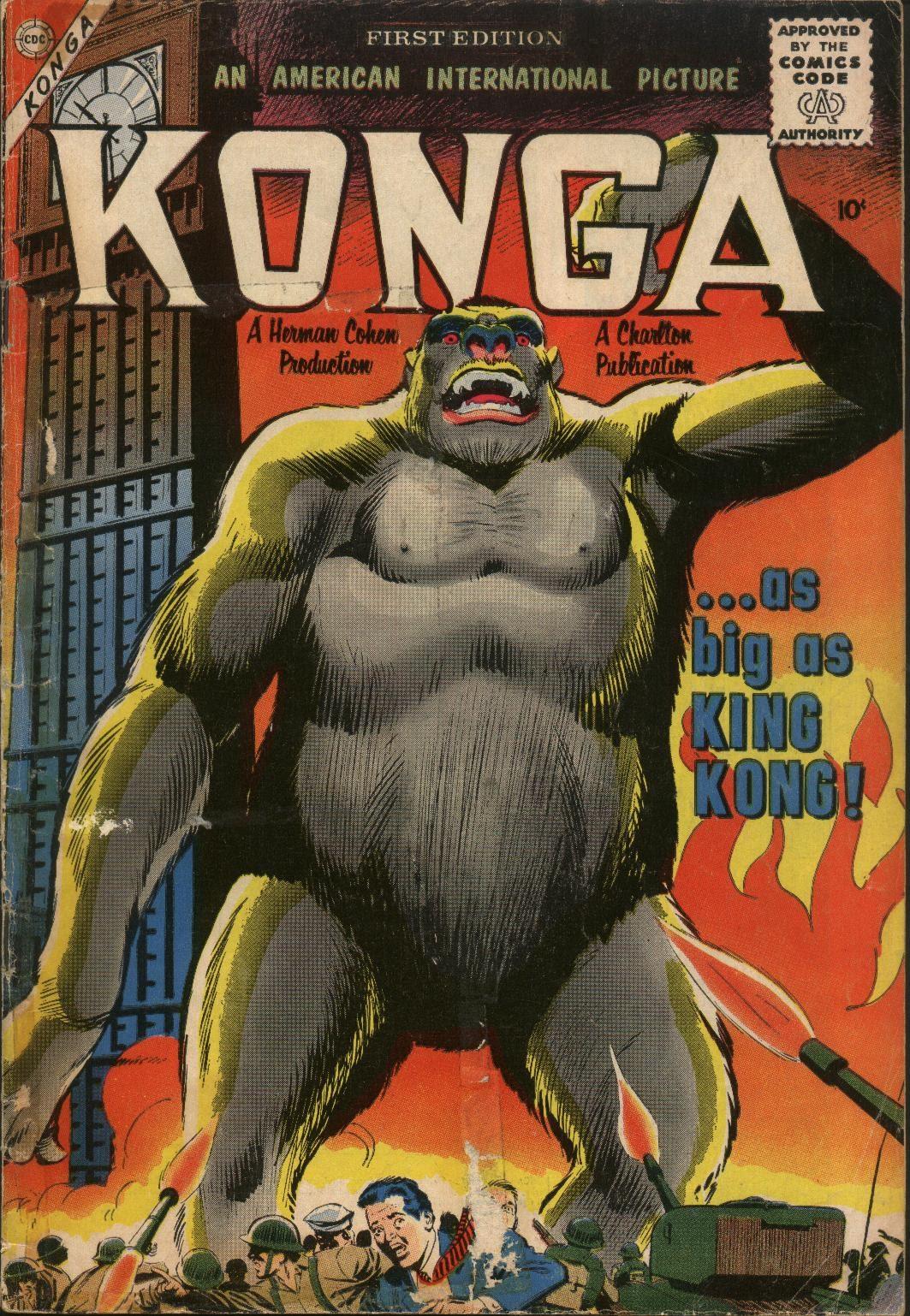 Konga 1 Page 1