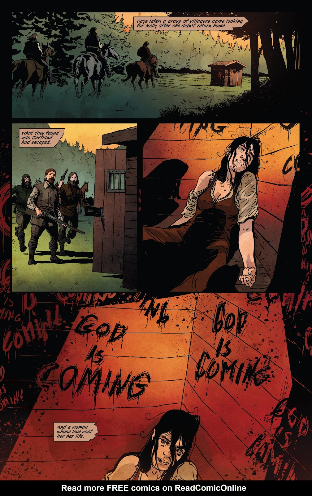 Read online Ruins Of Ravencroft comic -  Issue # Carnage - 26