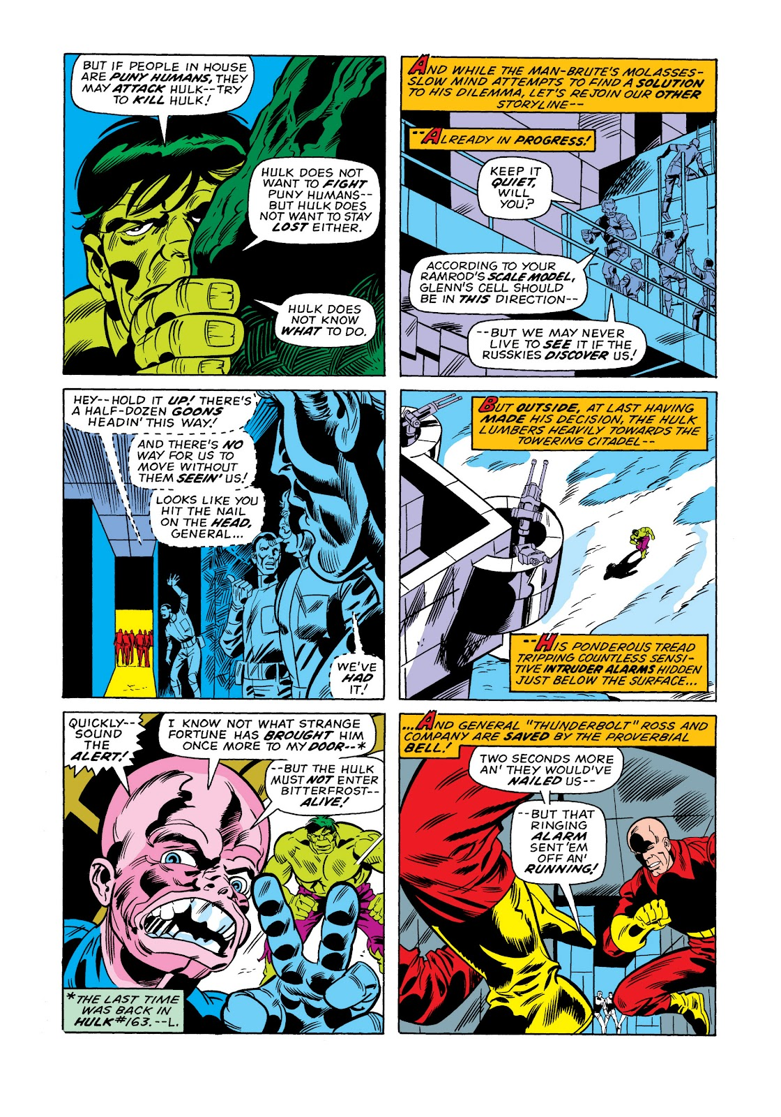 Read online Marvel Masterworks: The Incredible Hulk comic -  Issue # TPB 11 (Part 1) - 75