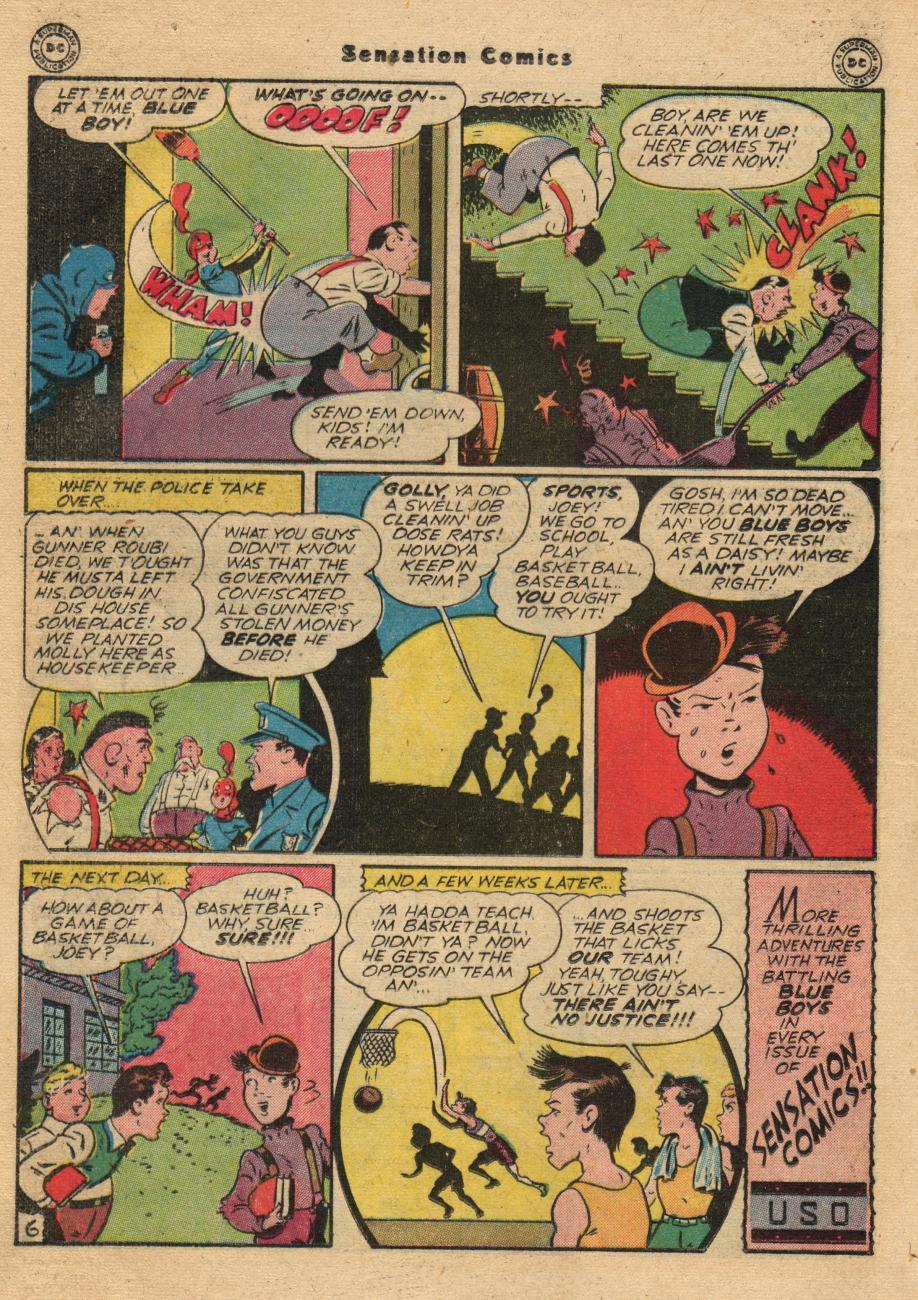 Read online Sensation (Mystery) Comics comic -  Issue #61 - 22