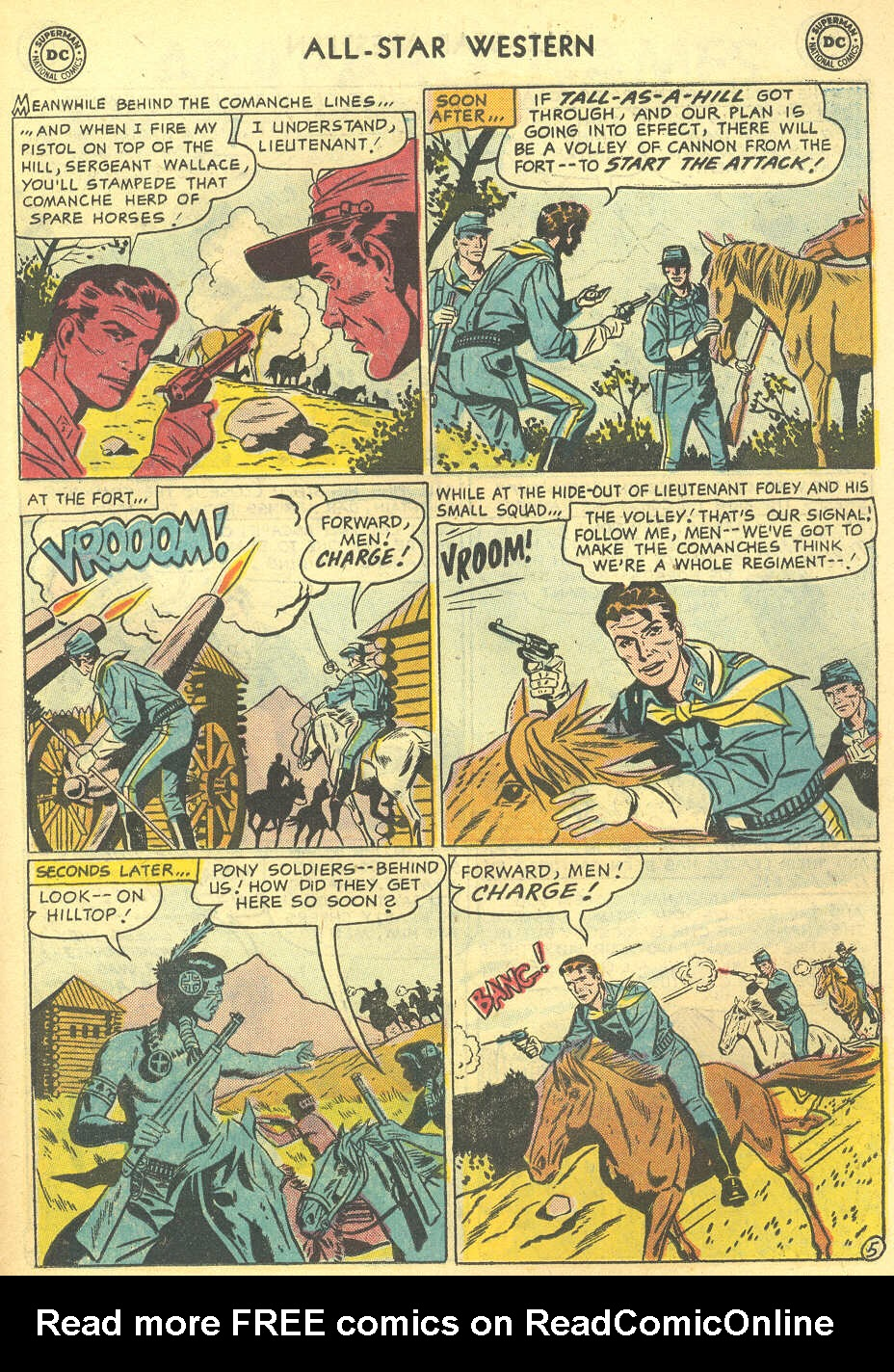 Read online All-Star Western (1951) comic -  Issue #95 - 23