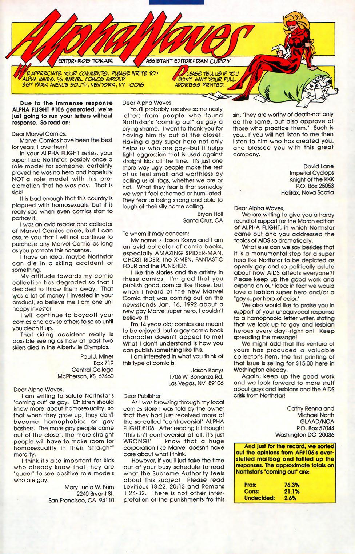 Read online Alpha Flight (1983) comic -  Issue #110 - 24