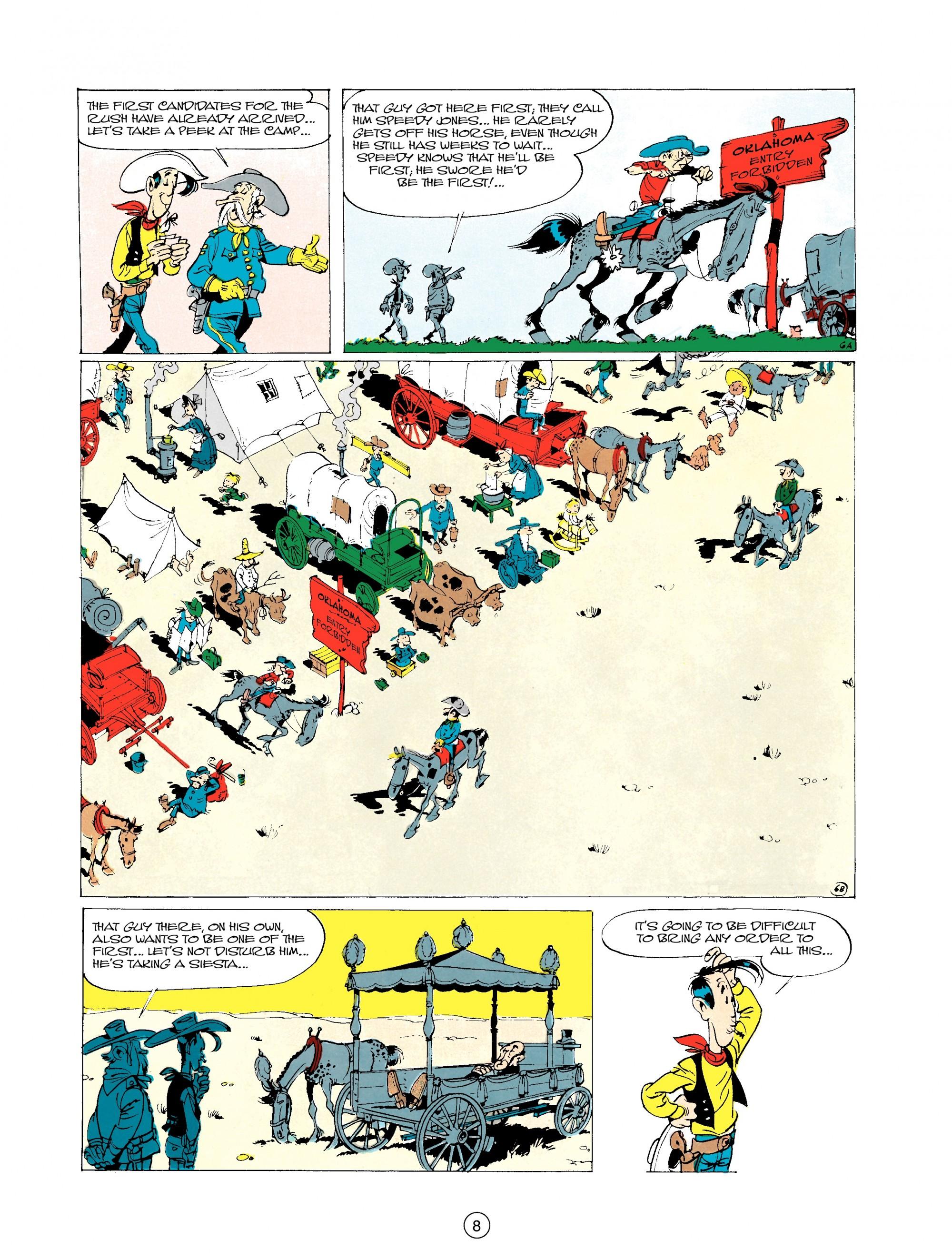 Read online A Lucky Luke Adventure comic -  Issue #20 - 8