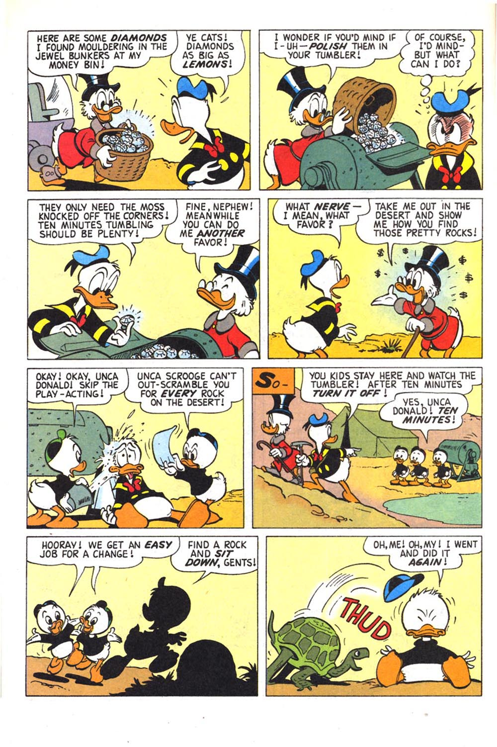 Read online Uncle Scrooge (1953) comic -  Issue #303 - 8