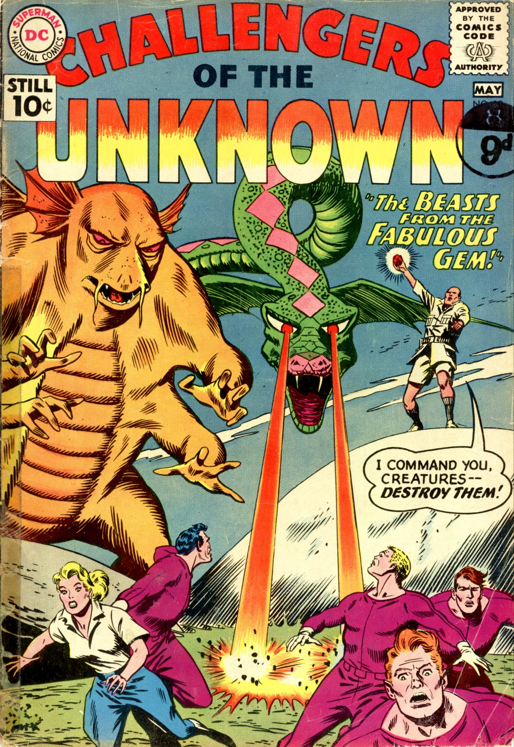 Challengers of the Unknown (1958) 19 Page 1