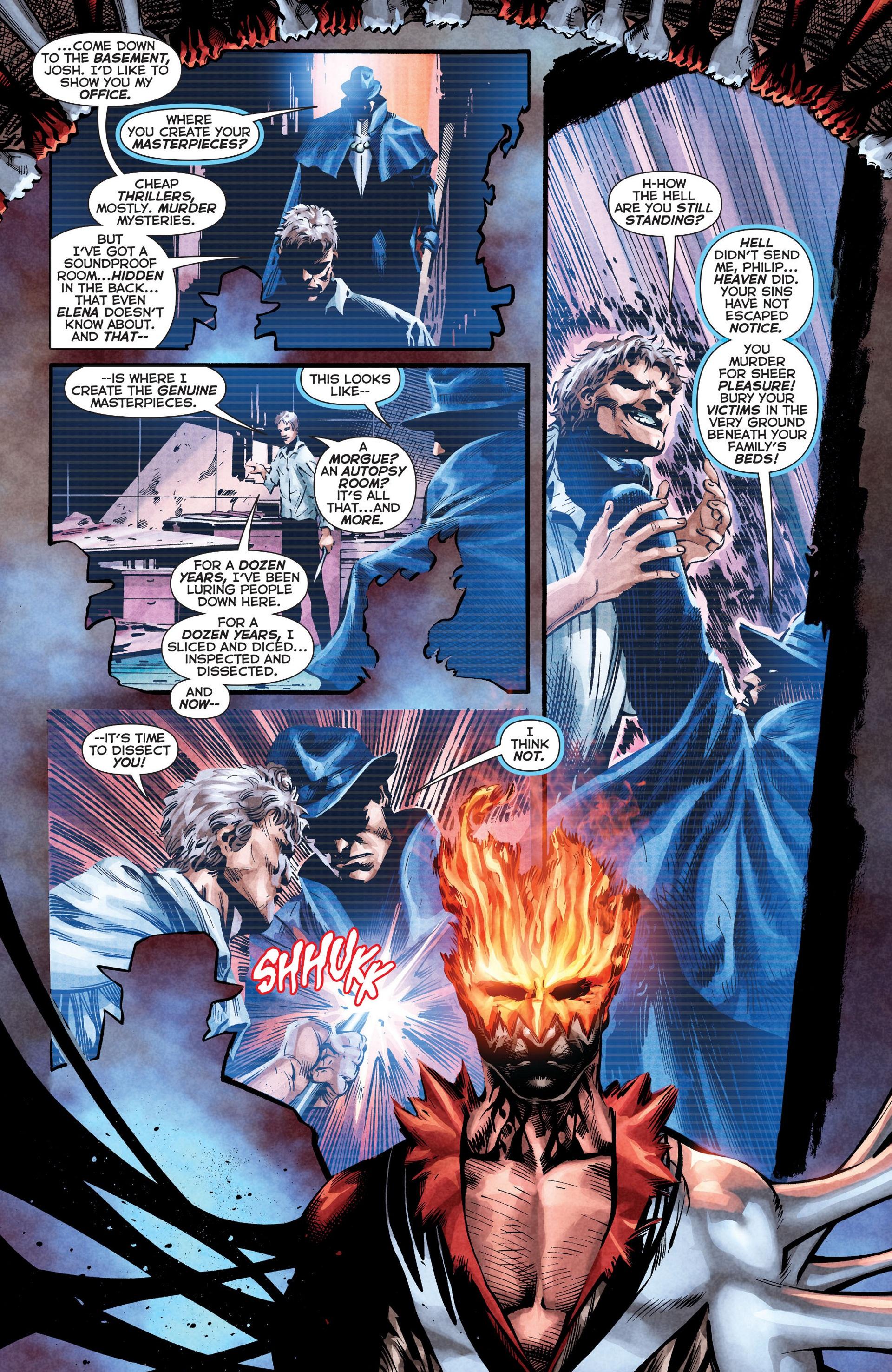 Read online Trinity of Sin: The Phantom Stranger comic -  Issue #8 - 12