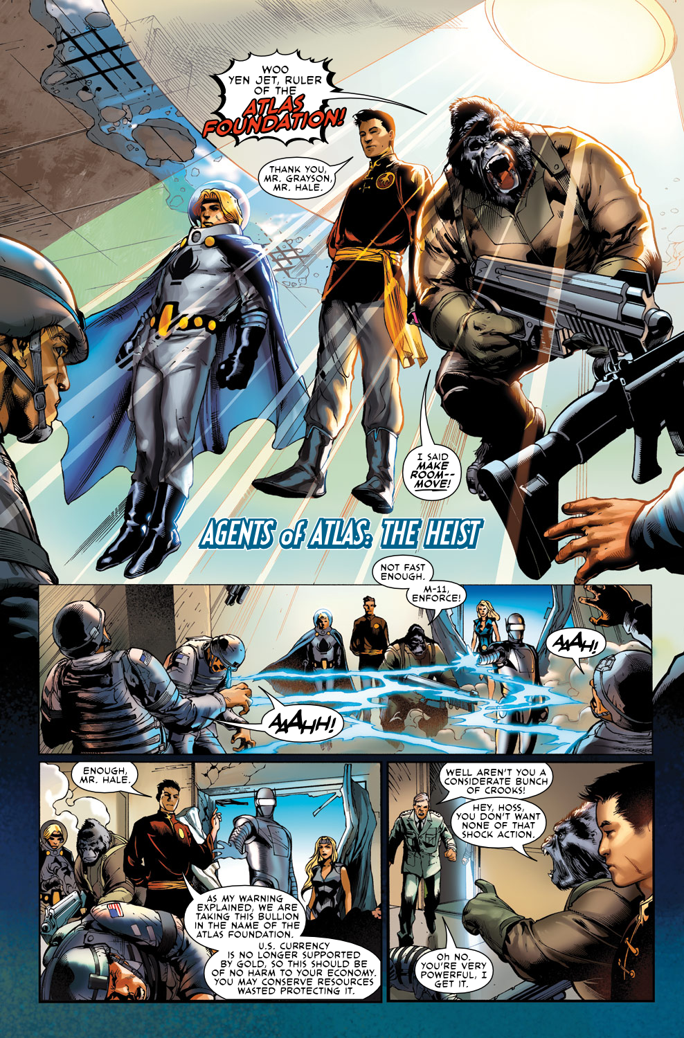 Read online Agents Of Atlas (2009) comic -  Issue #0 - 14