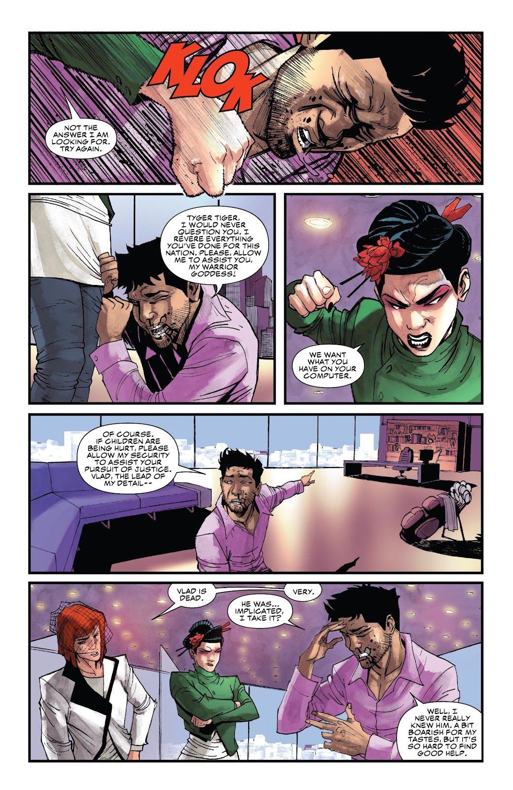 Read online Black Widow (2019) comic -  Issue #4 - 19
