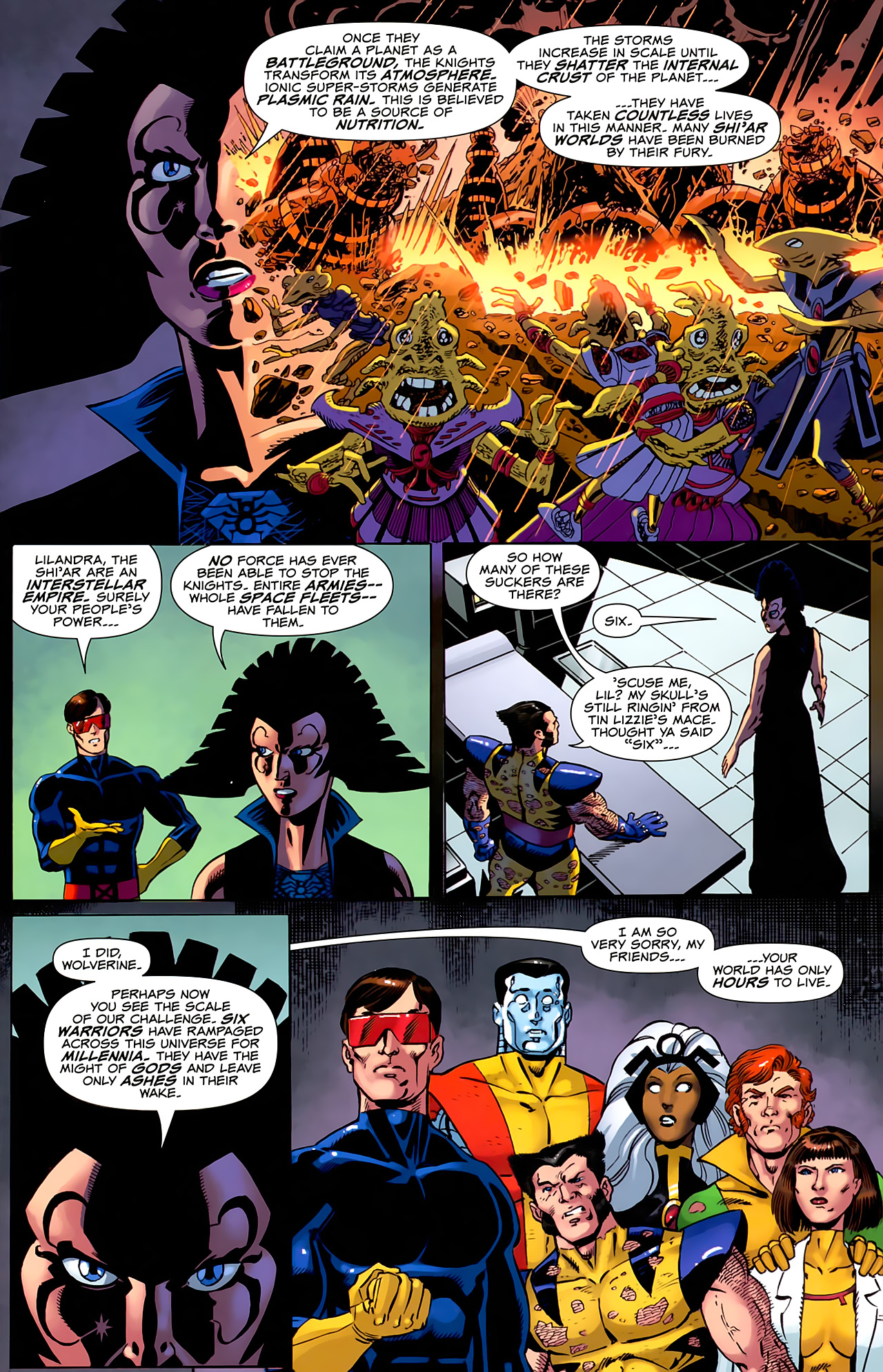 Read online Uncanny X-Men: First Class comic -  Issue #6 - 11