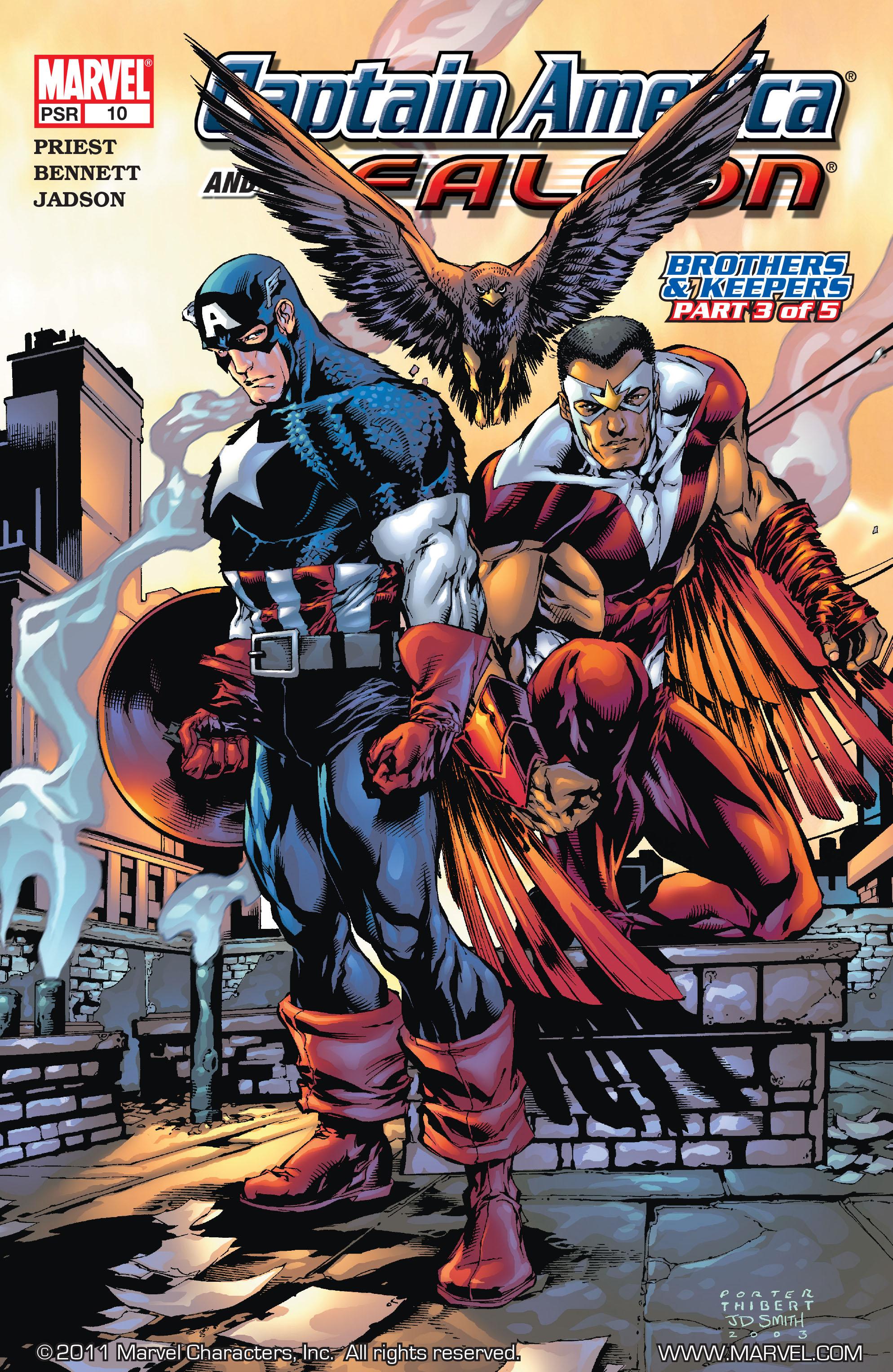 Captain America & the Falcon 10 Page 1