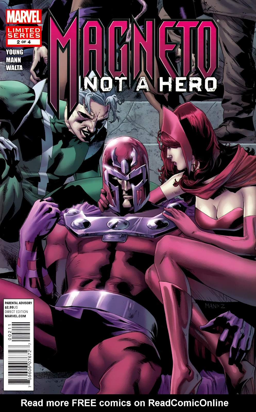 Magneto: Not A Hero 2 Page 1