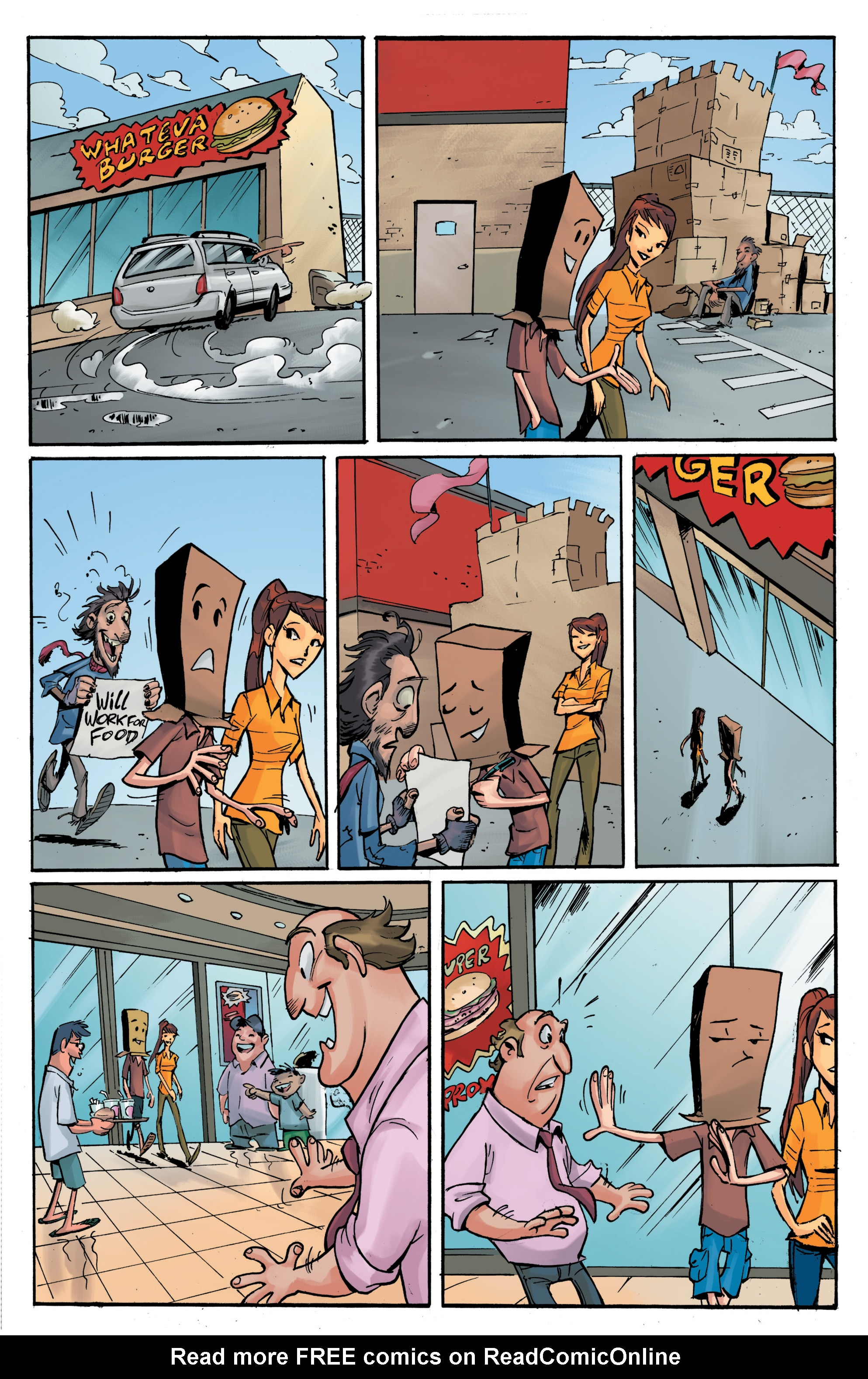 Read online Smosh comic -  Issue #5 - 11