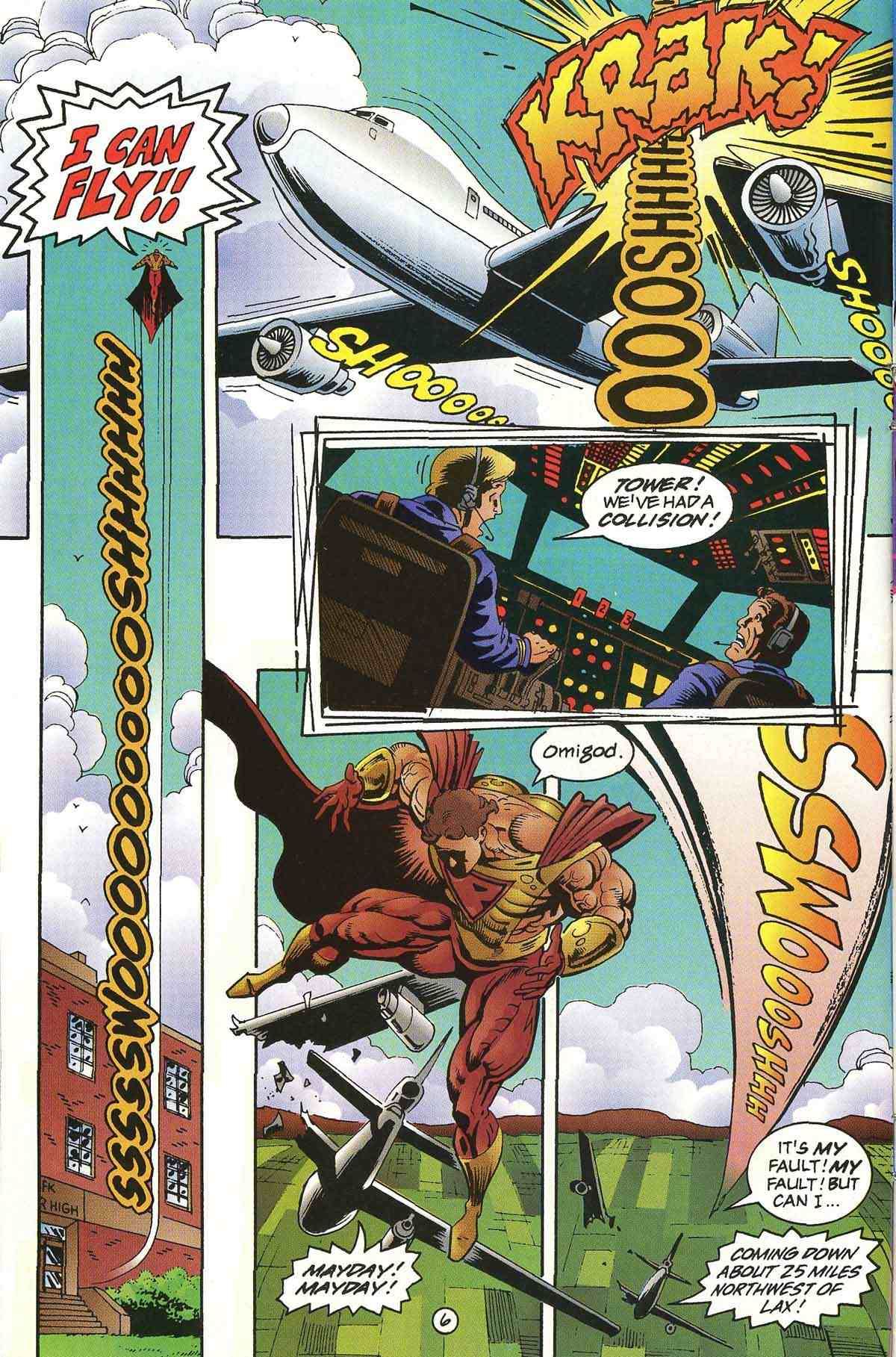 Read online Ultraverse Premiere comic -  Issue #0 - 8