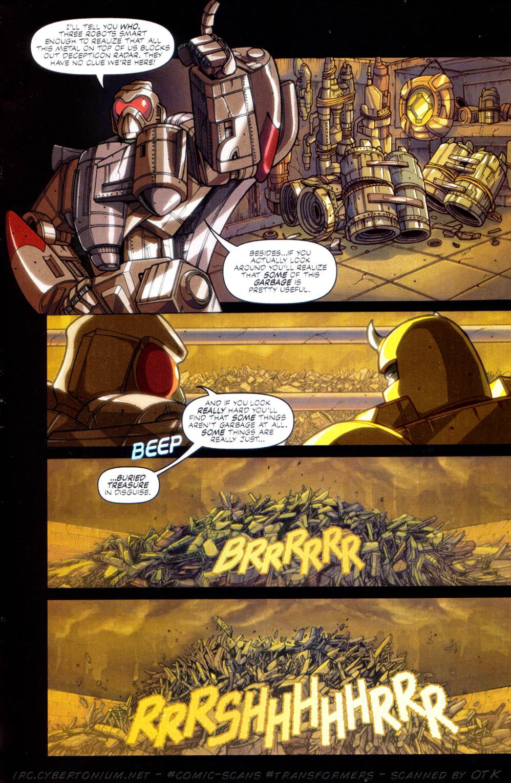 Read online Transformers Armada comic -  Issue #2 - 11