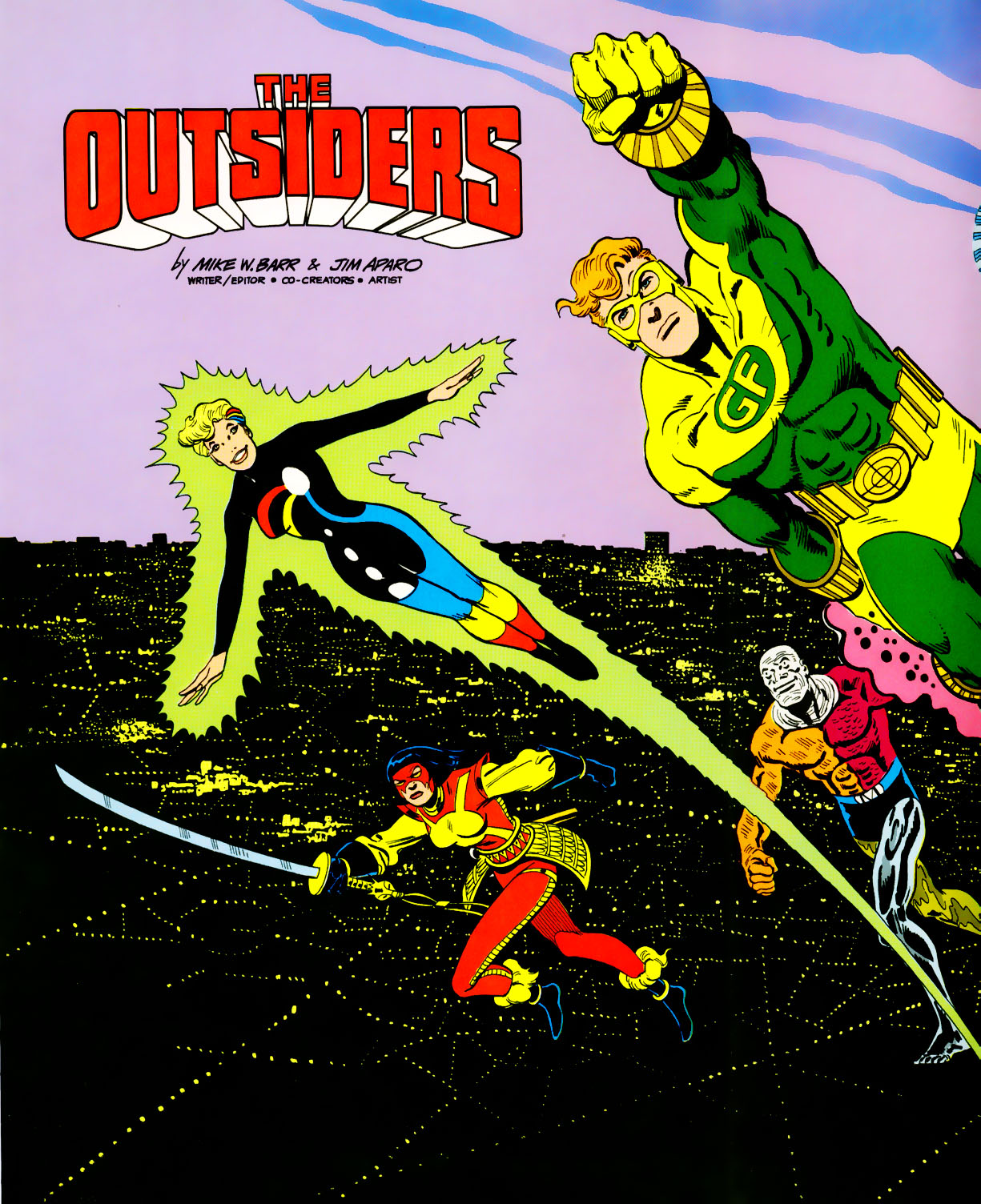 Read online Adventures of the Outsiders comic -  Issue #39 - 3
