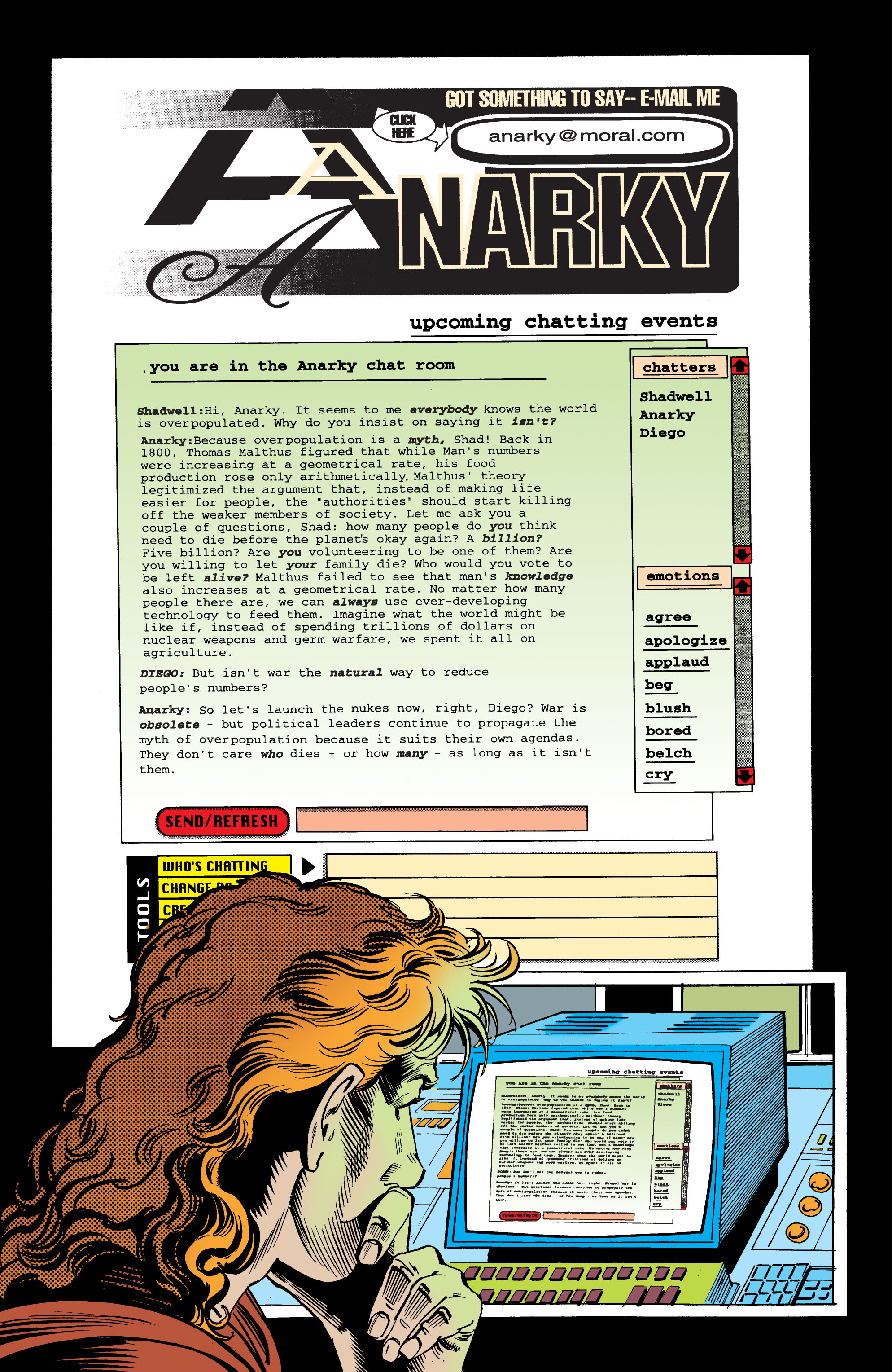 Read online Anarky (1999) comic -  Issue #6 - 20