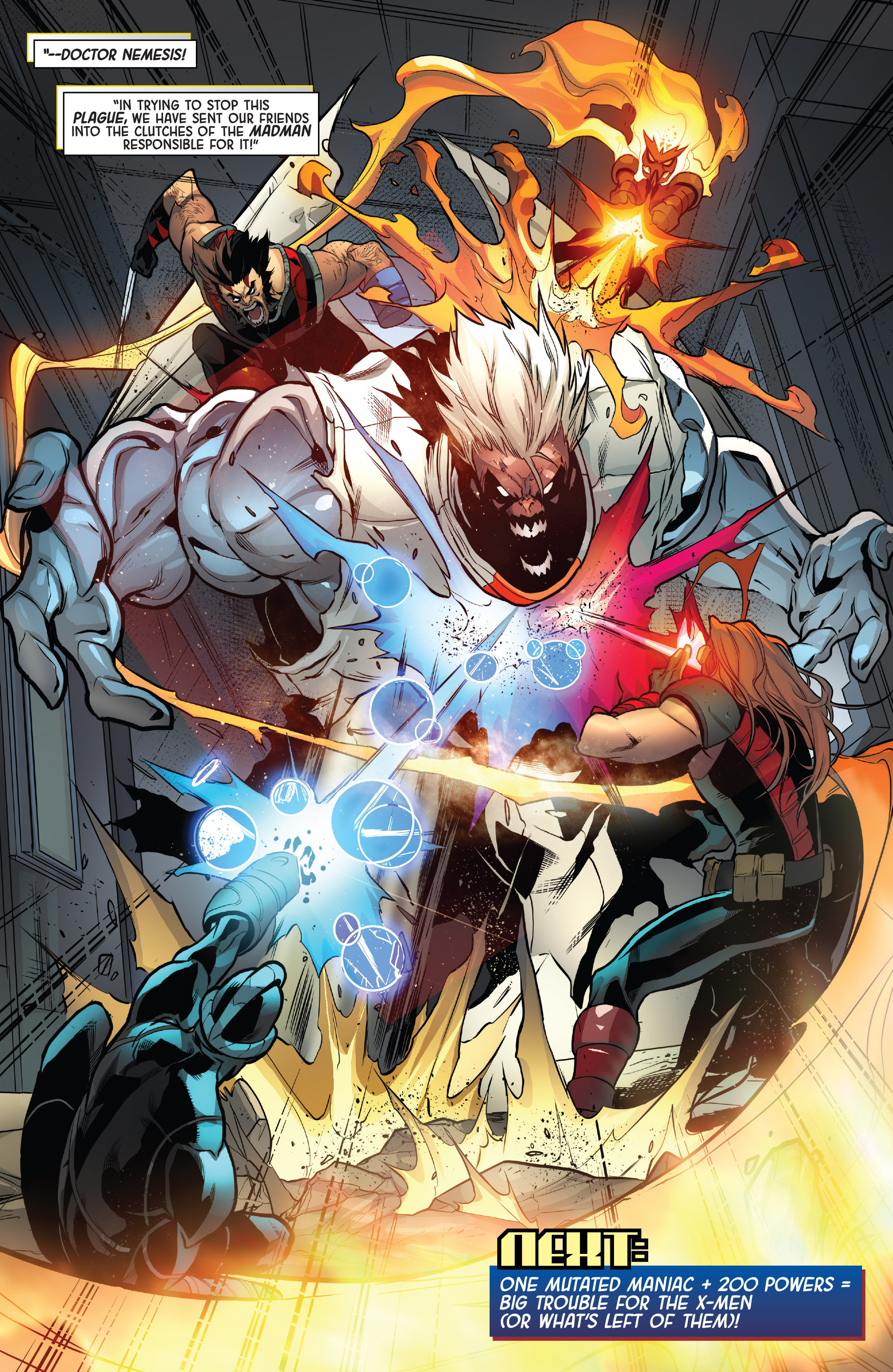 Read online Age of Apocalypse (2015) comic -  Issue #4 - 20