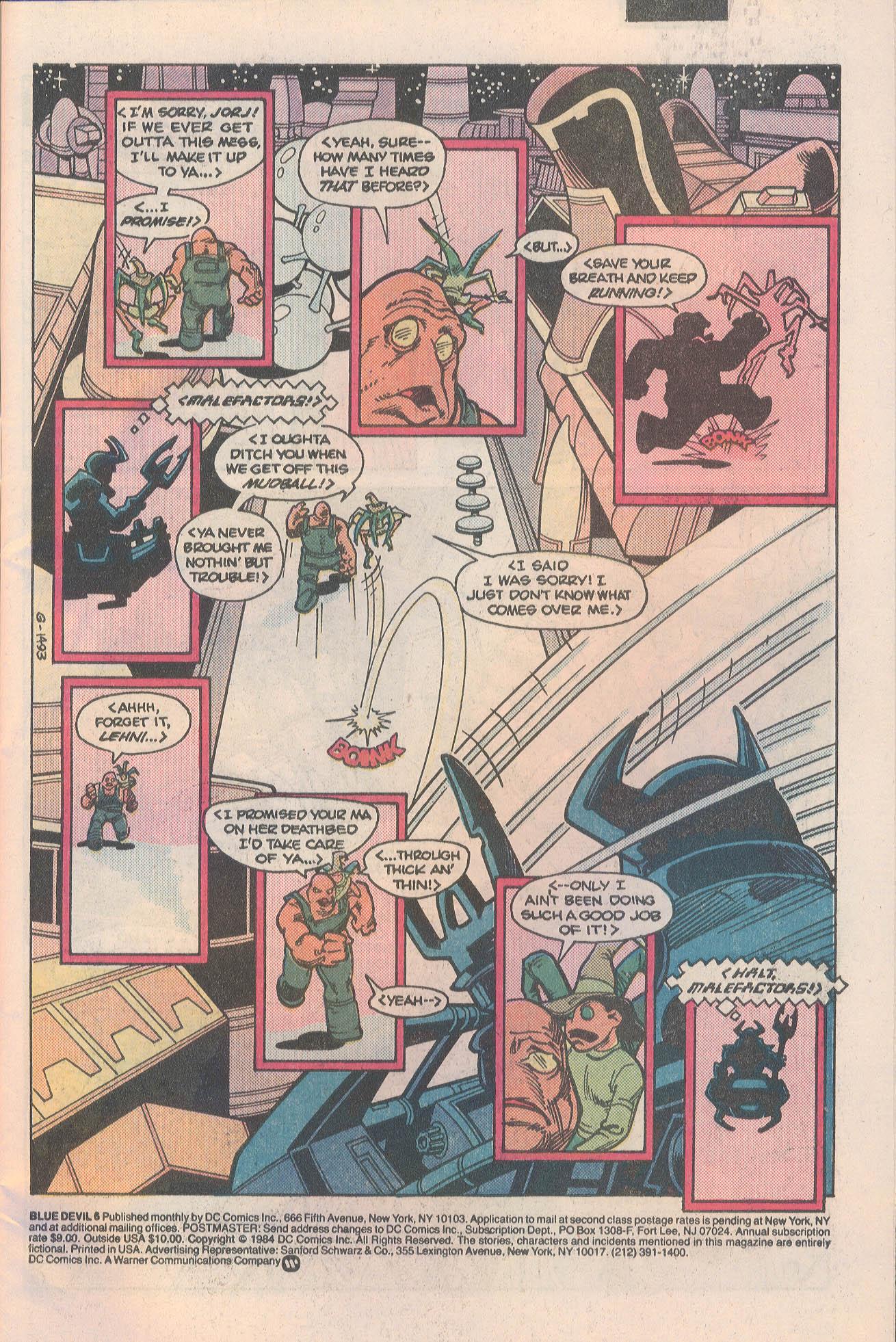 Blue Devil 6 Page 3