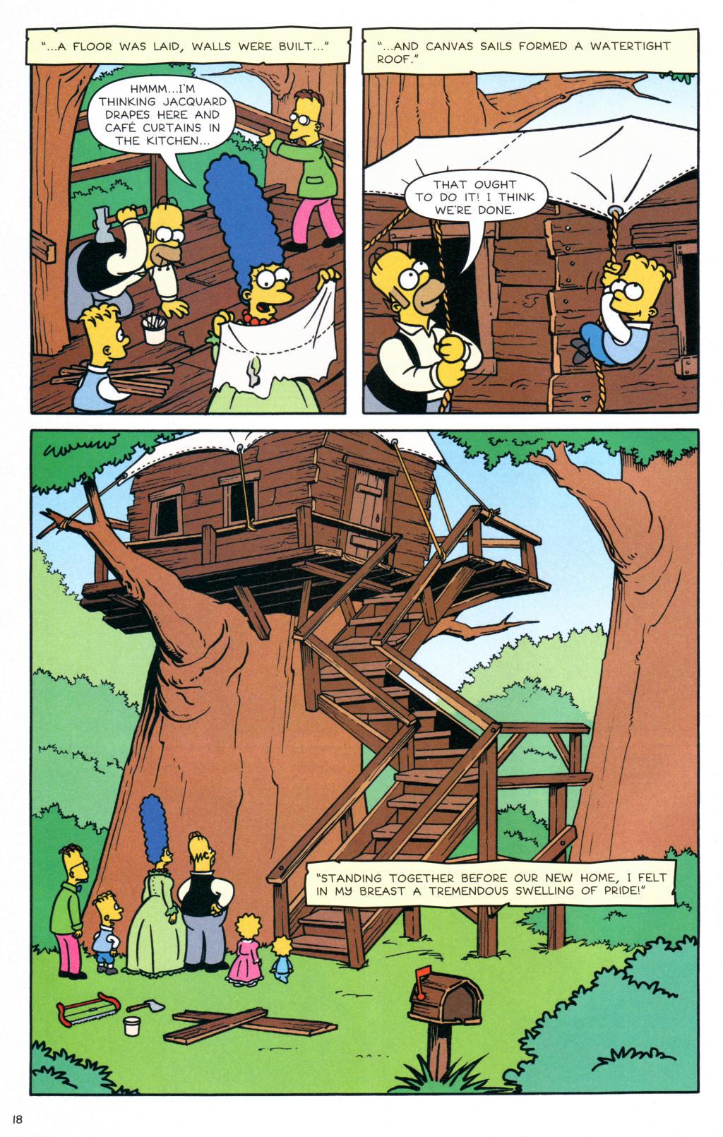 Read online Simpsons Comics comic -  Issue #127 - 15