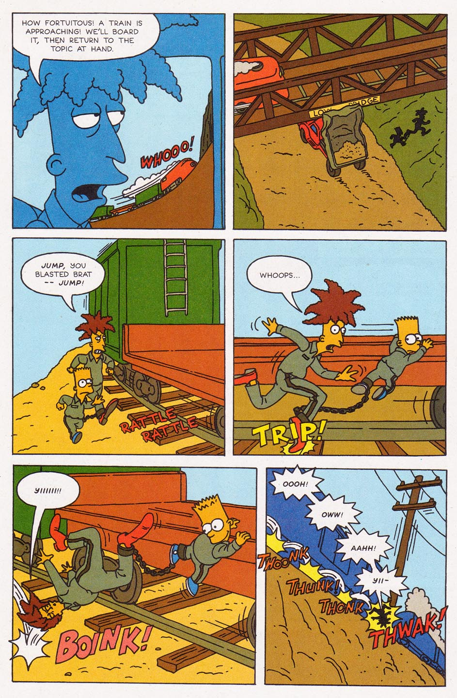 Read online Simpsons Comics comic -  Issue #2 - 18