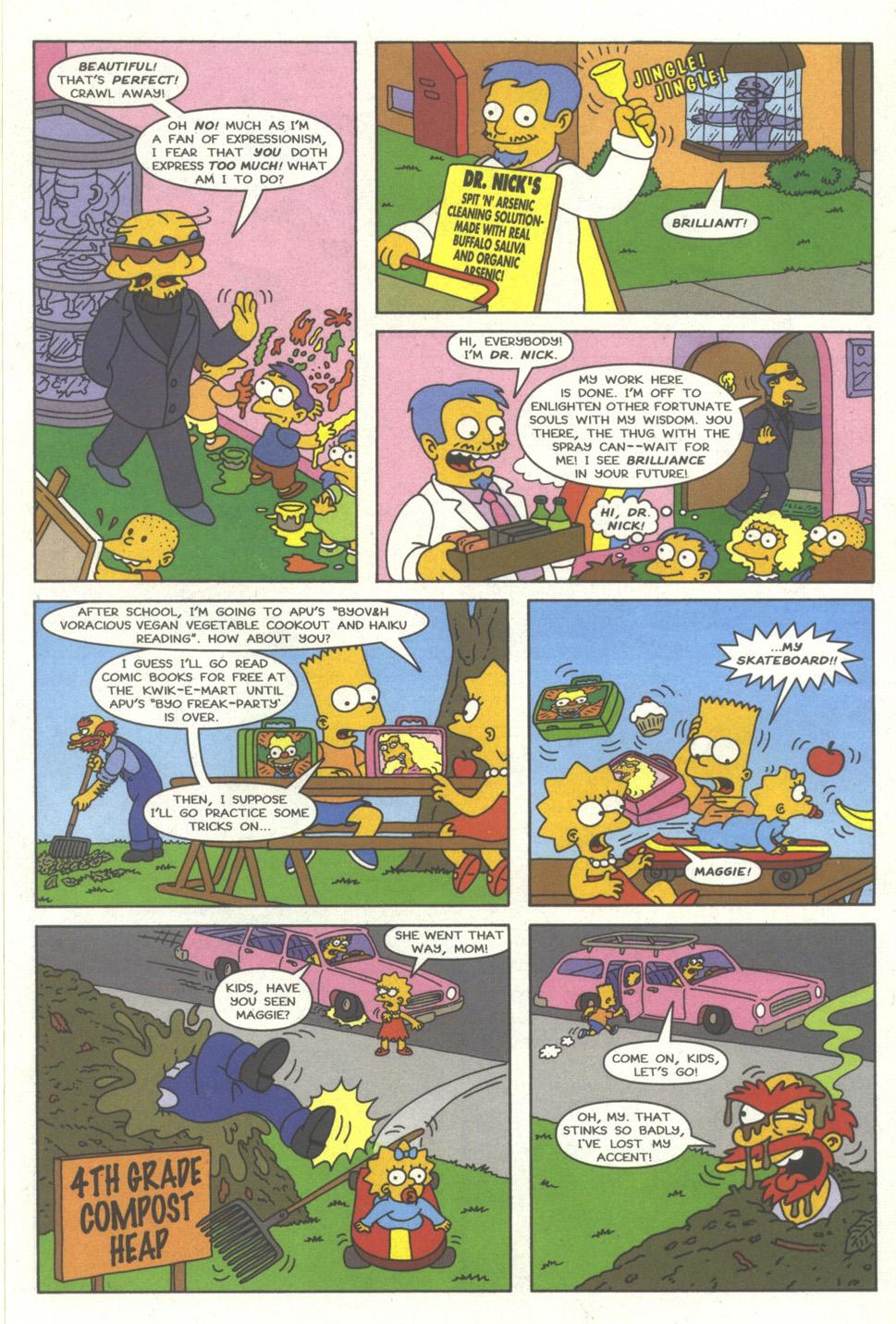 Read online Simpsons Comics comic -  Issue #35 - 16
