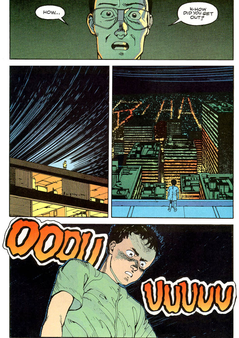 Read online Akira comic -  Issue #3 - 58