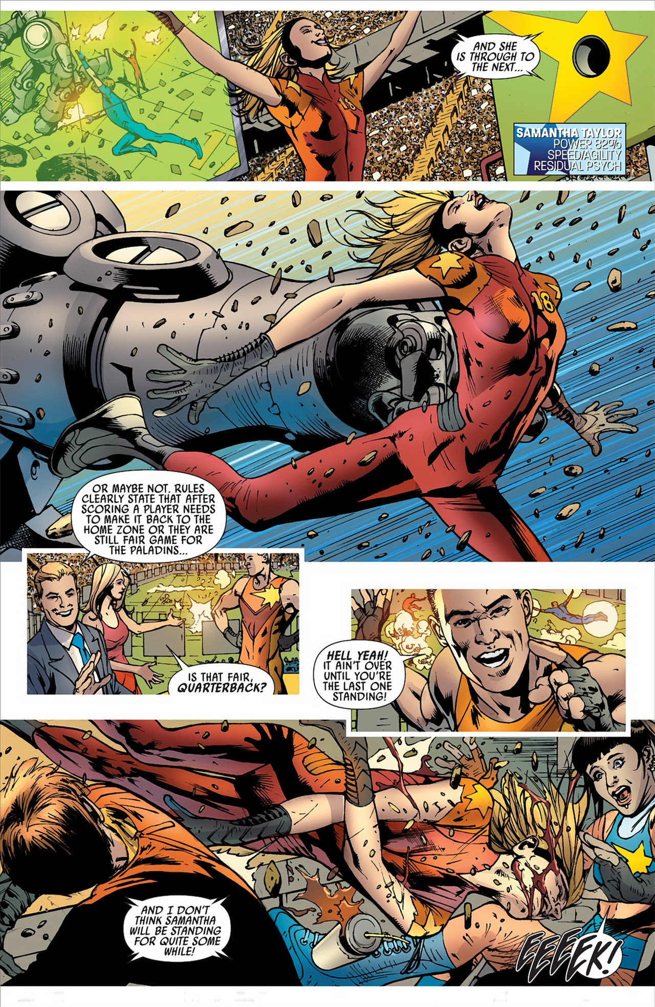 Read online America's Got Powers comic -  Issue #2 - 25
