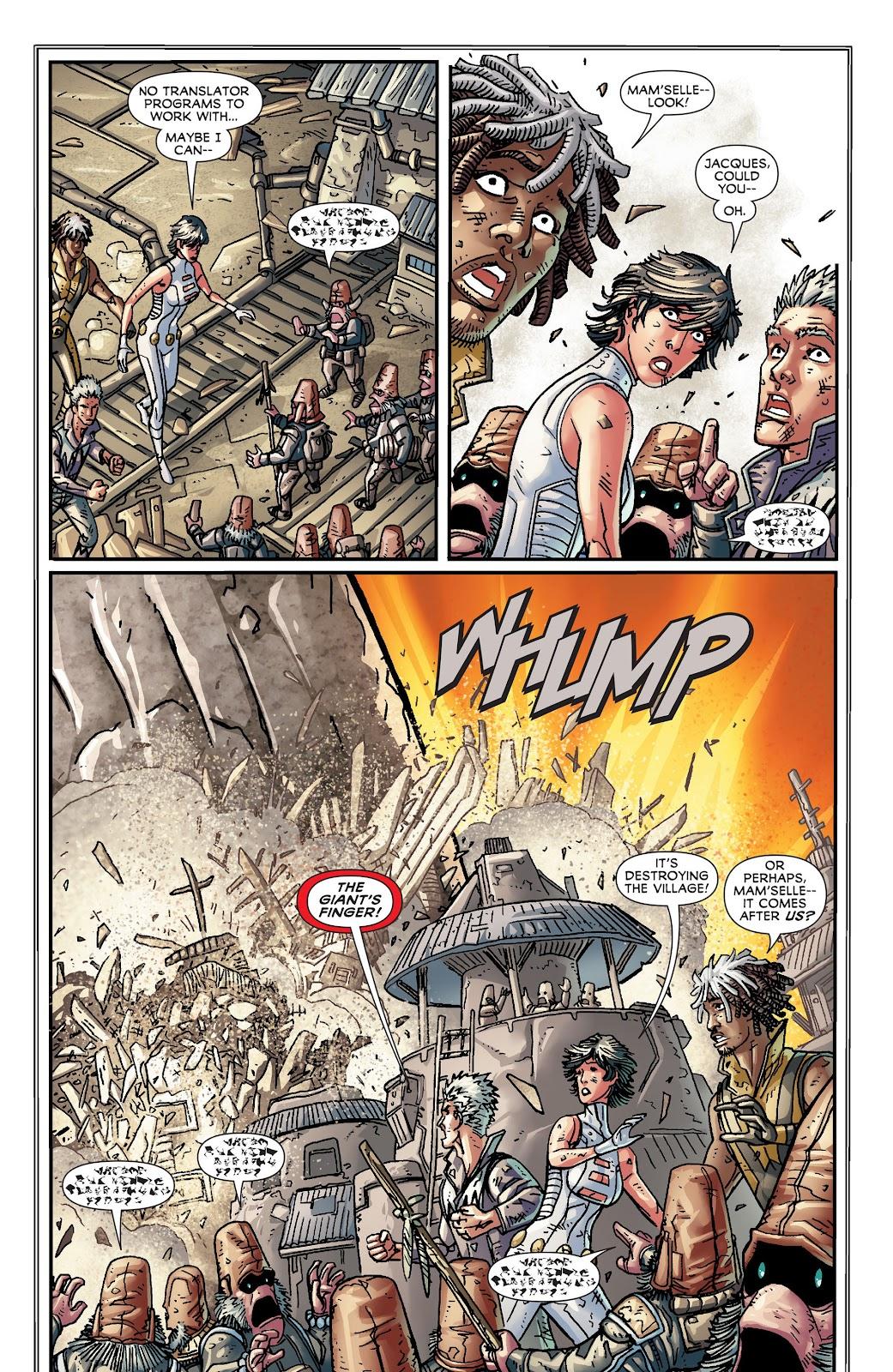 Legion of Super-Heroes (2011) Issue #18 #19 - English 16