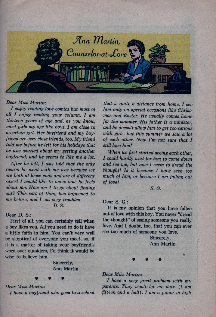 Read online Secret Hearts comic -  Issue #79 - 25