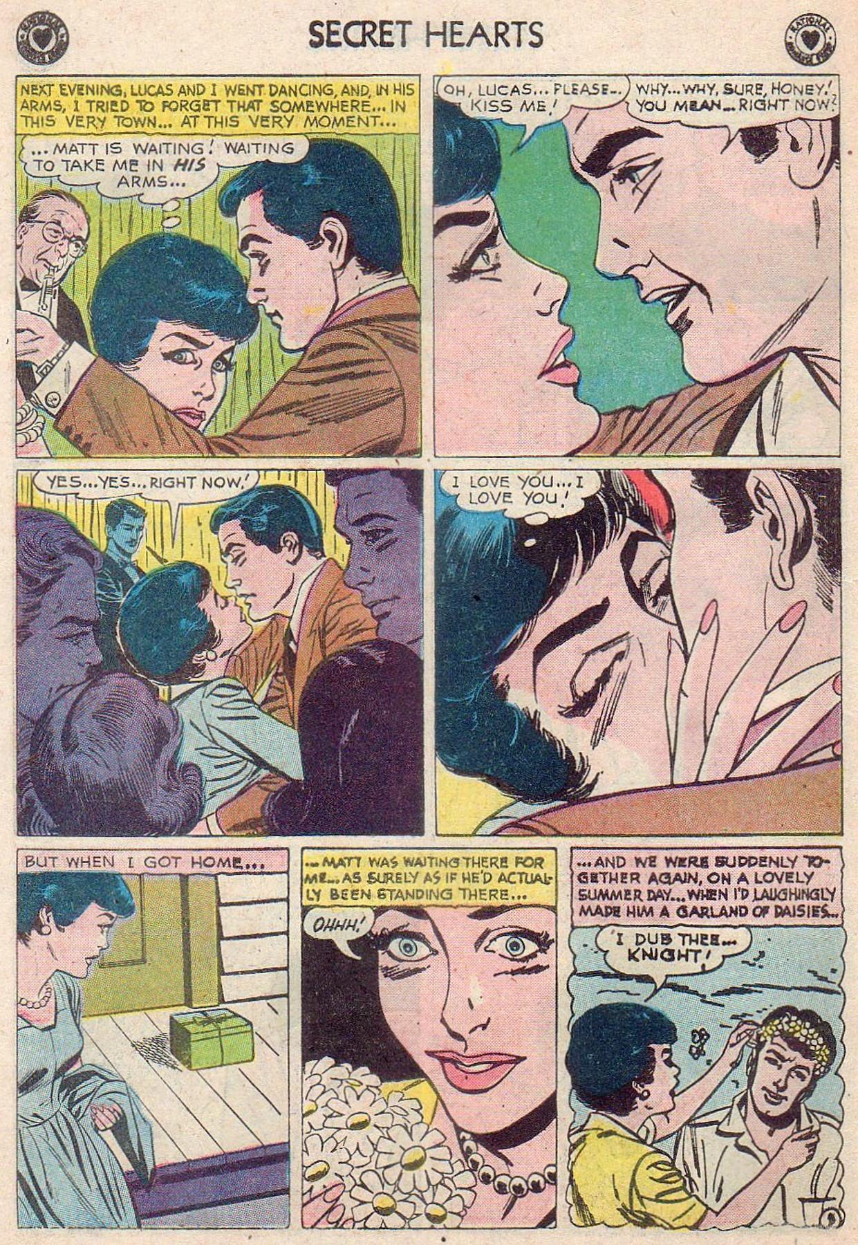 Read online Secret Hearts comic -  Issue #61 - 14