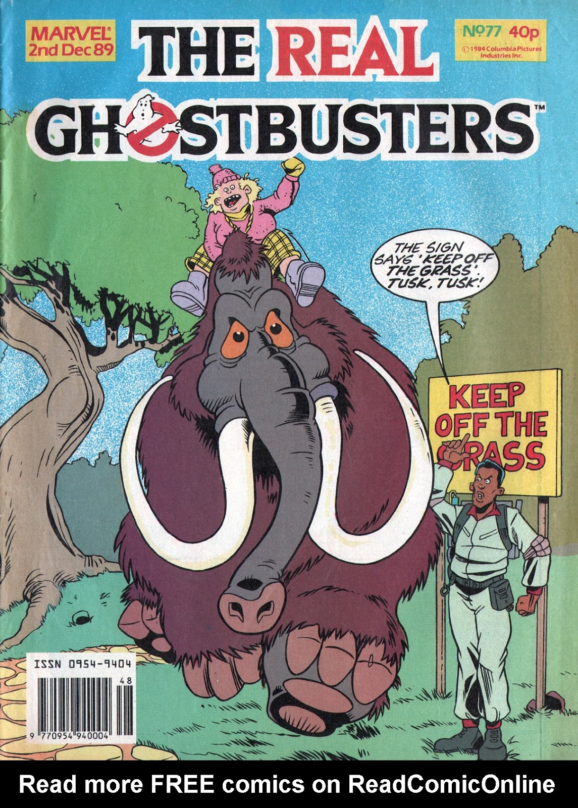 The Real Ghostbusters 77 Page 1