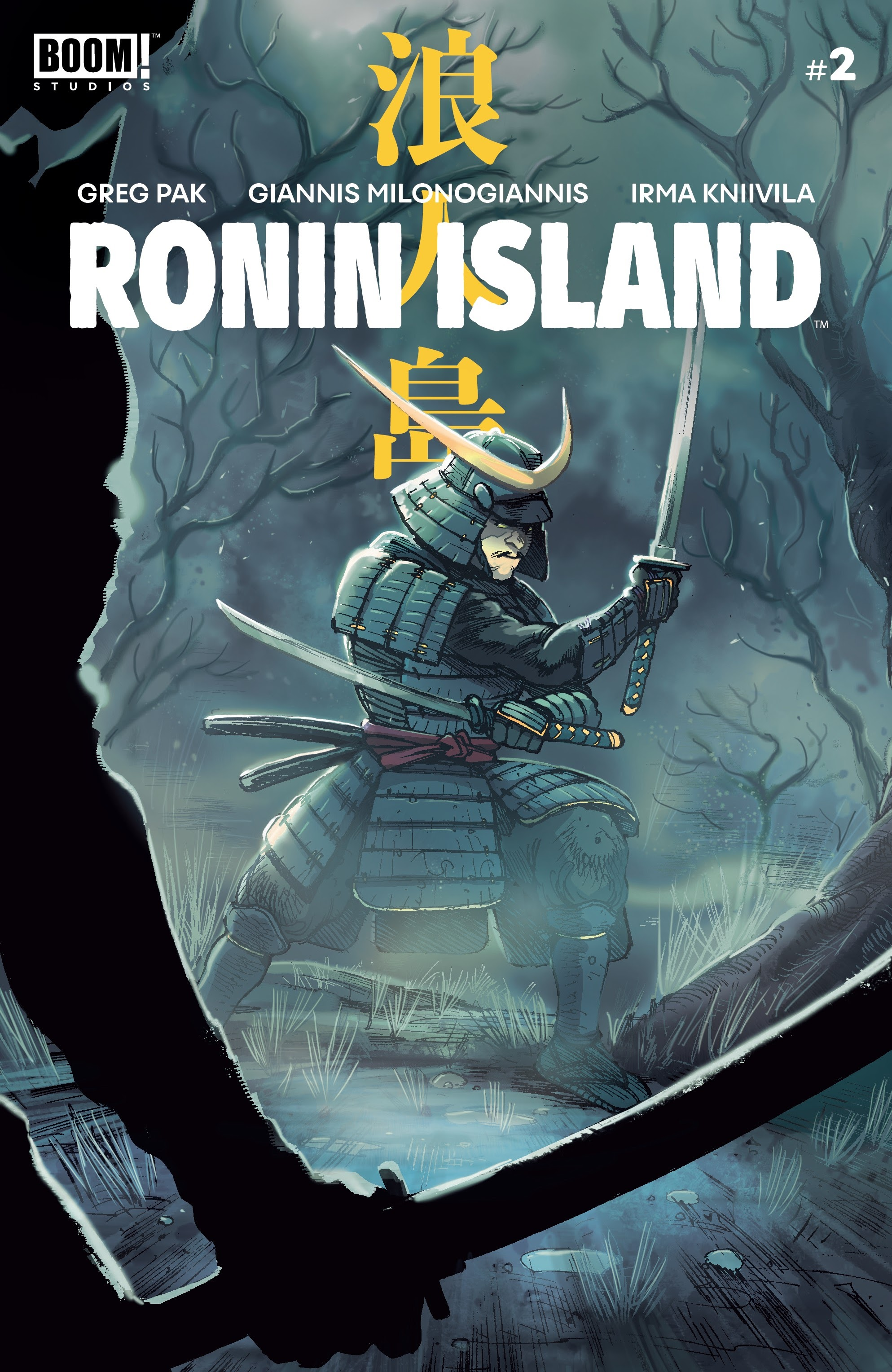 Ronin Island 2 Page 1