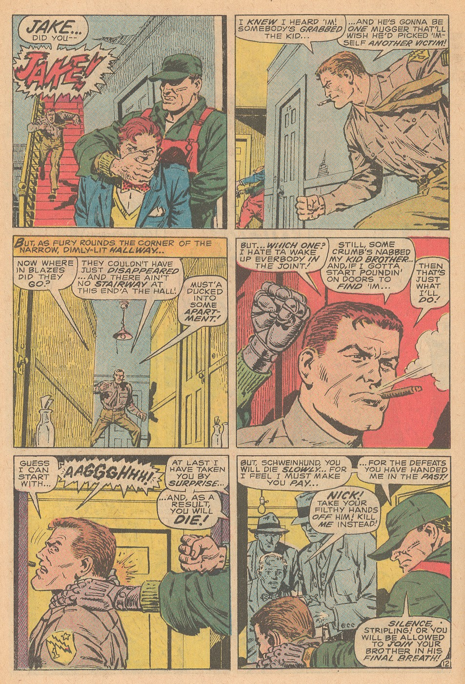 Read online Sgt. Fury comic -  Issue #68 - 18