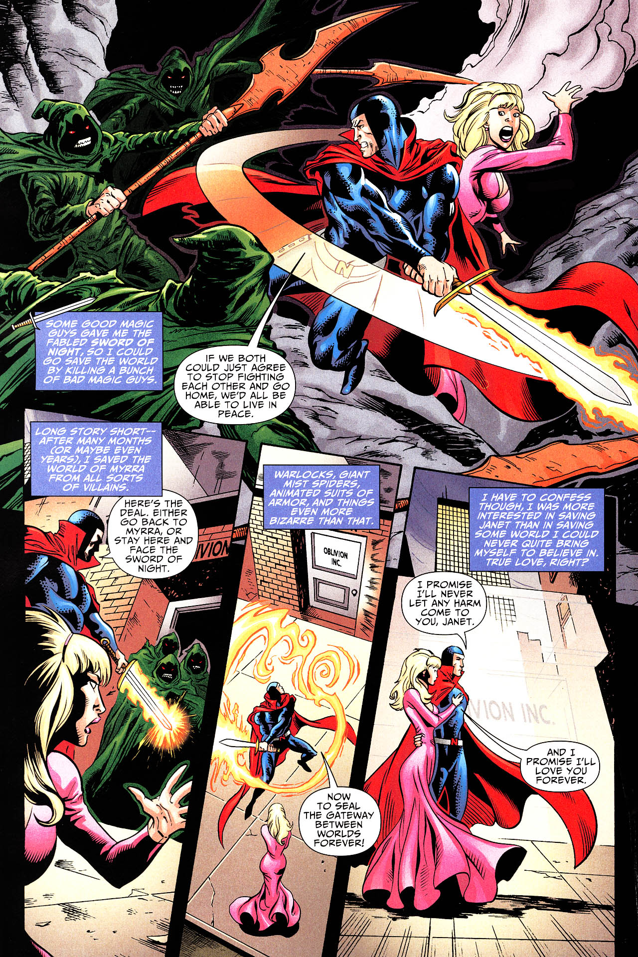 Read online Shadowpact comic -  Issue #12 - 6