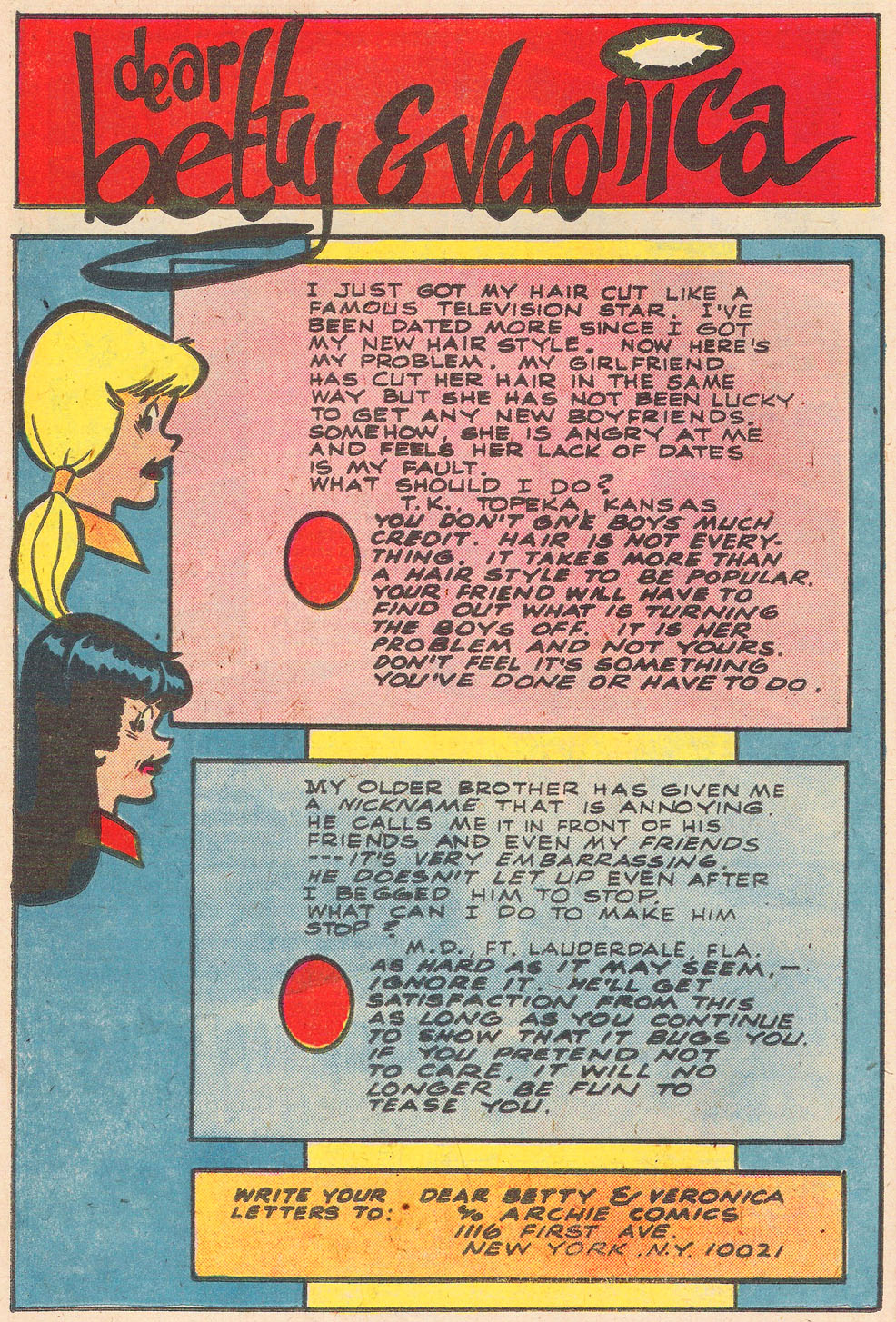 Read online Archie's Girls Betty and Veronica comic -  Issue #269 - 26