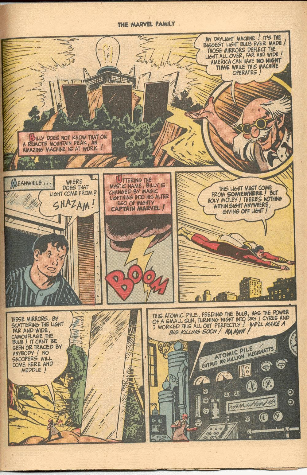 The Marvel Family issue 38 - Page 43