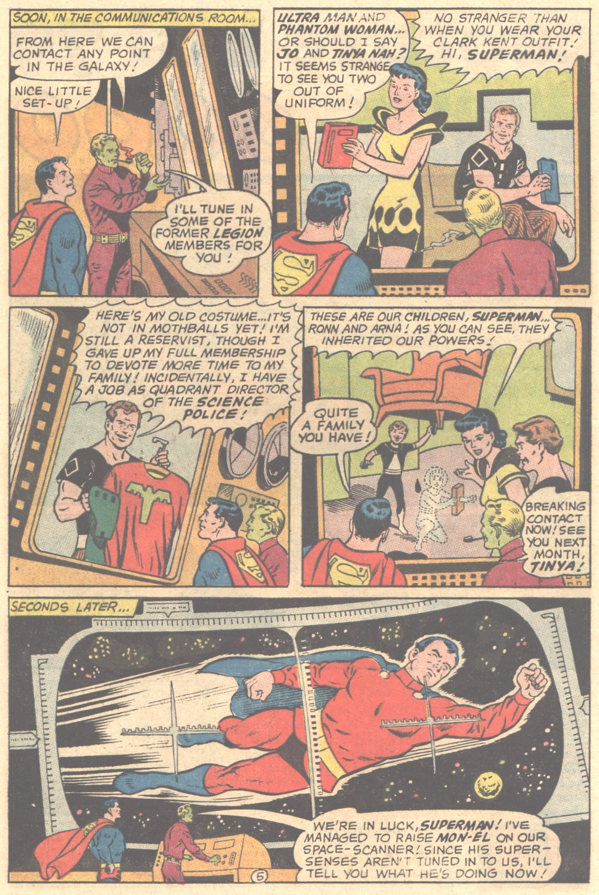 Read online Adventure Comics (1938) comic -  Issue #354 - 8