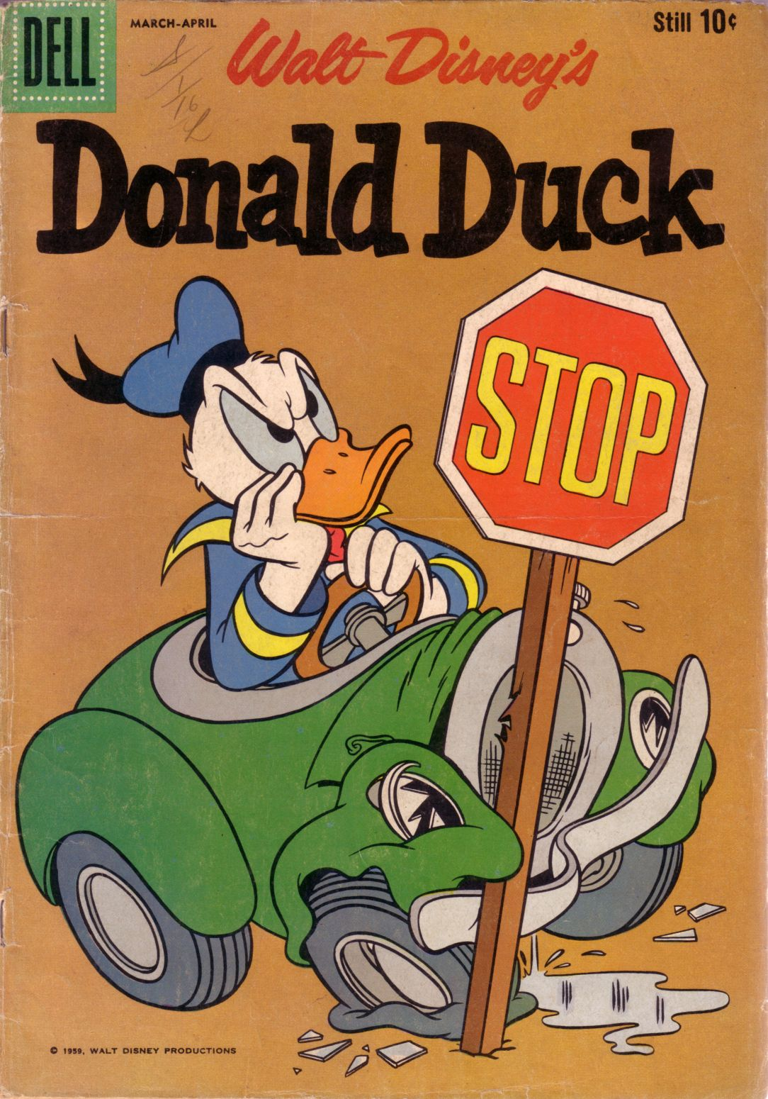 Walt Disney's Donald Duck (1952) issue 64 - Page 1