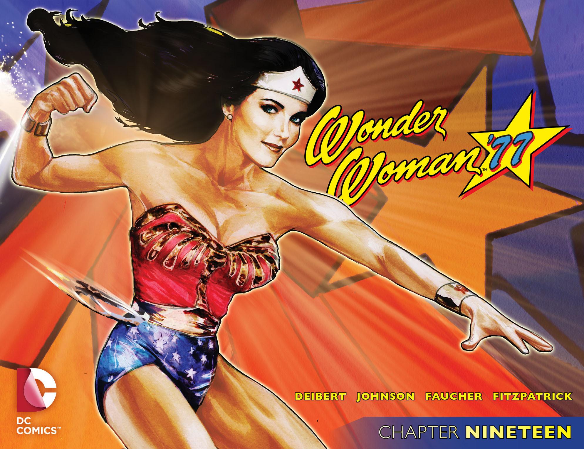 Read online Wonder Woman '77 [I] comic -  Issue #19 - 1