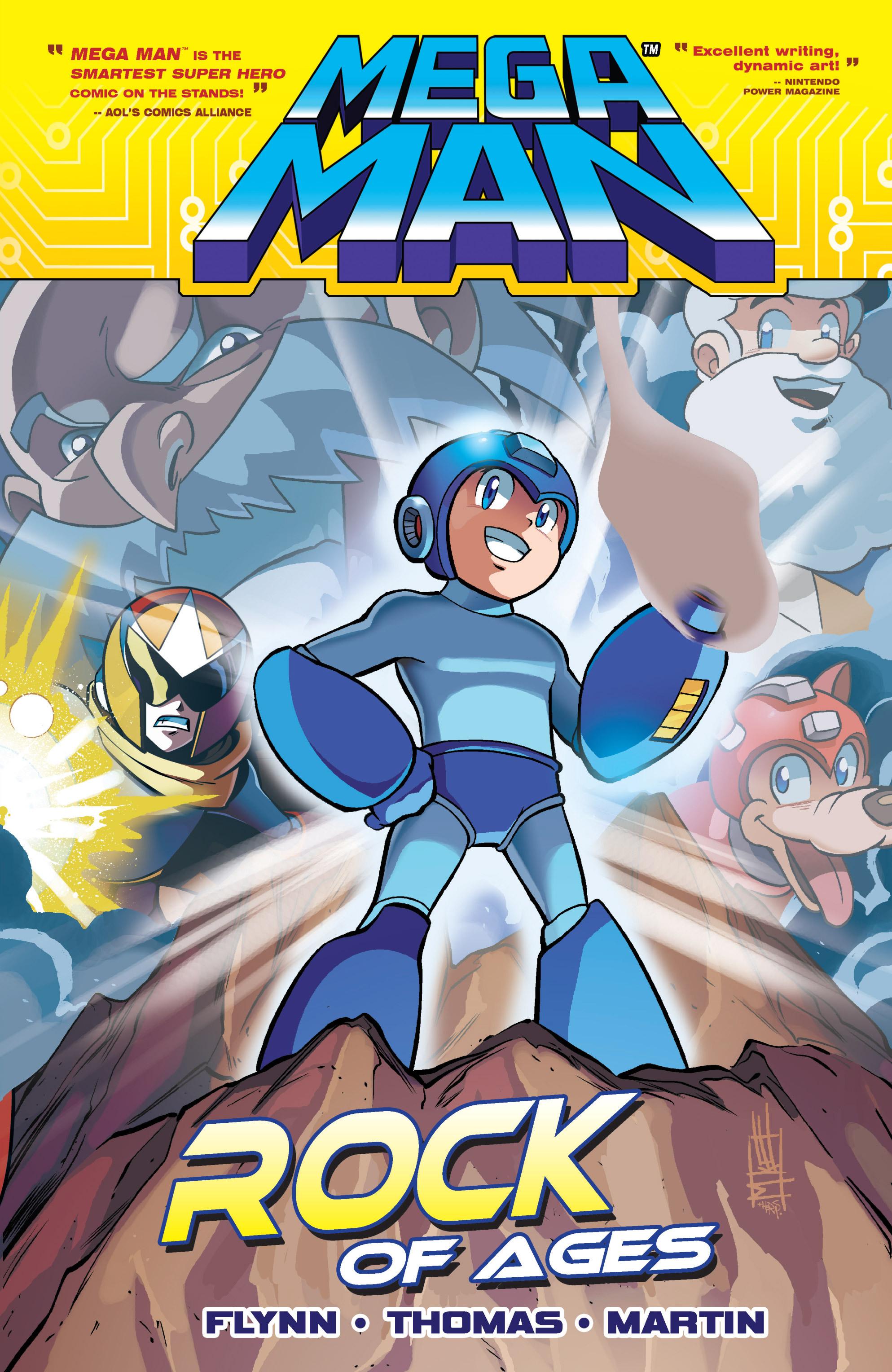 read online mega man comic issue tpb 5