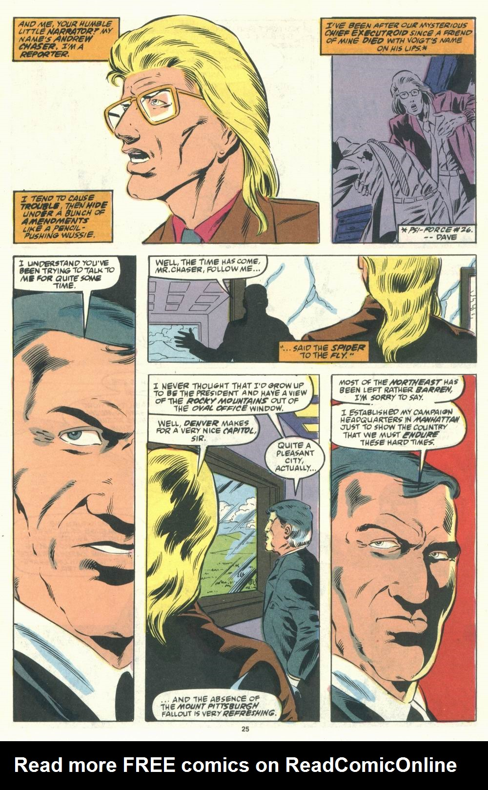 Read online Justice (1986) comic -  Issue #31 - 27