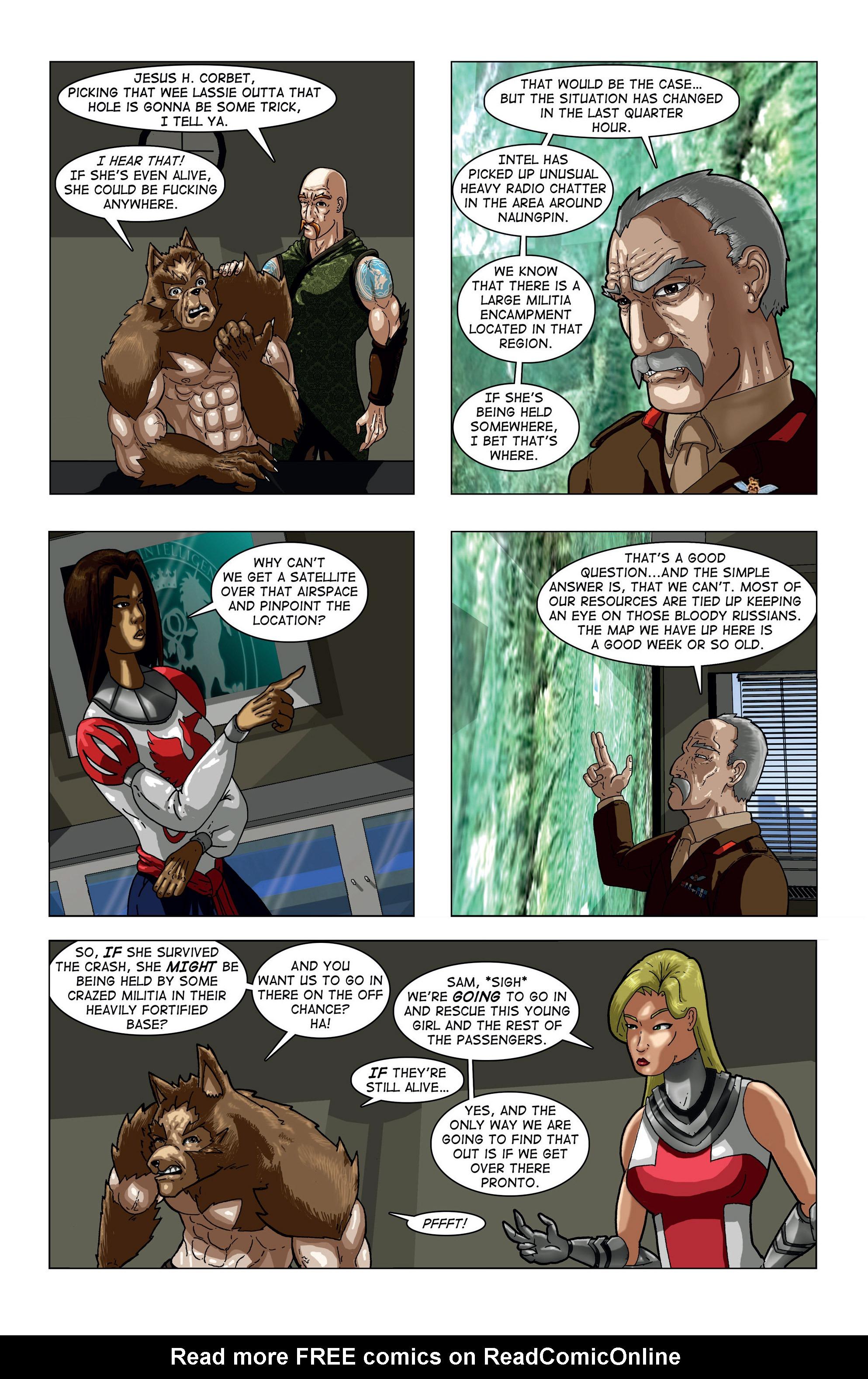 Read online Vanguard (2015) comic -  Issue #1 - 15