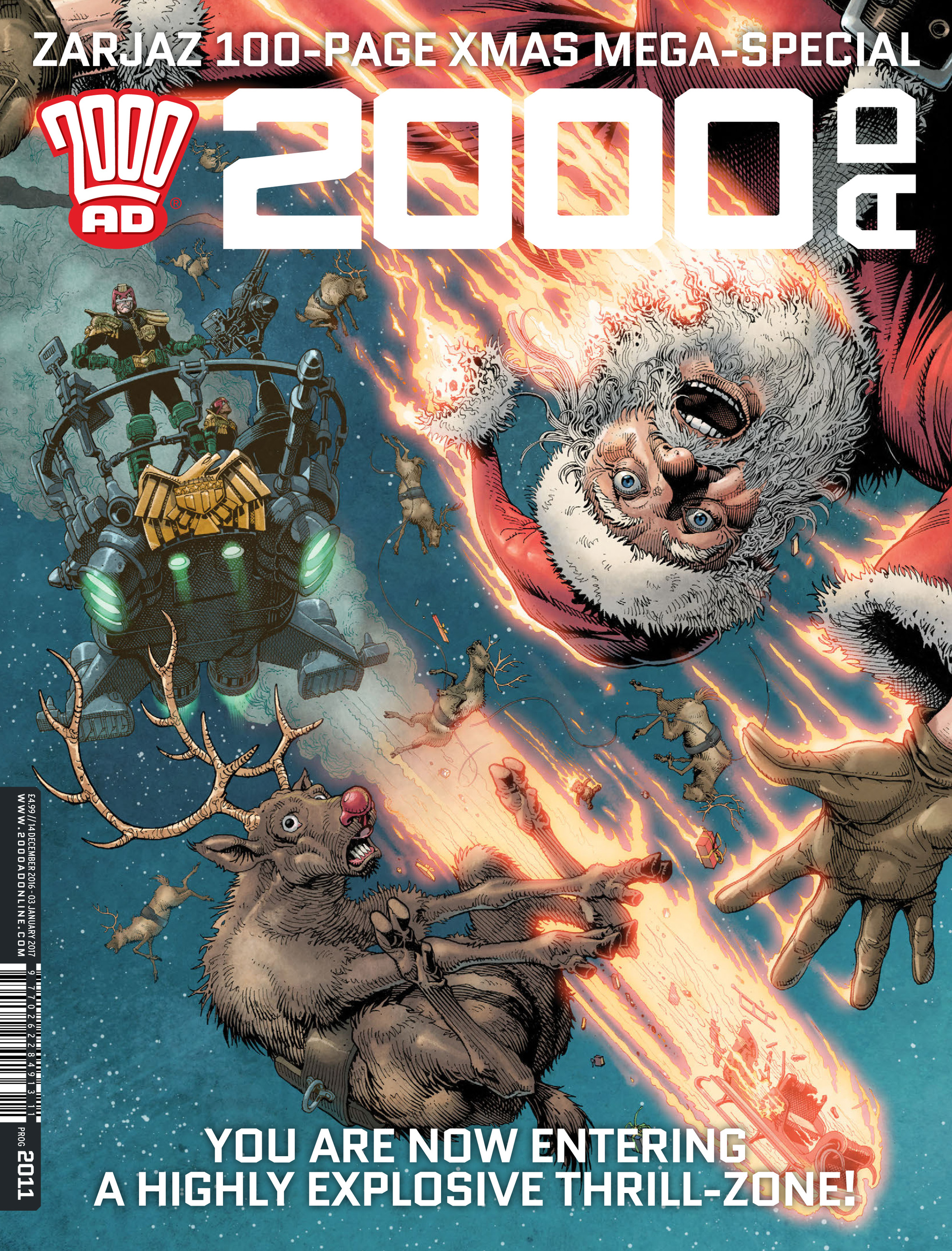 Read online 2000 AD comic -  Issue #2011 - 1