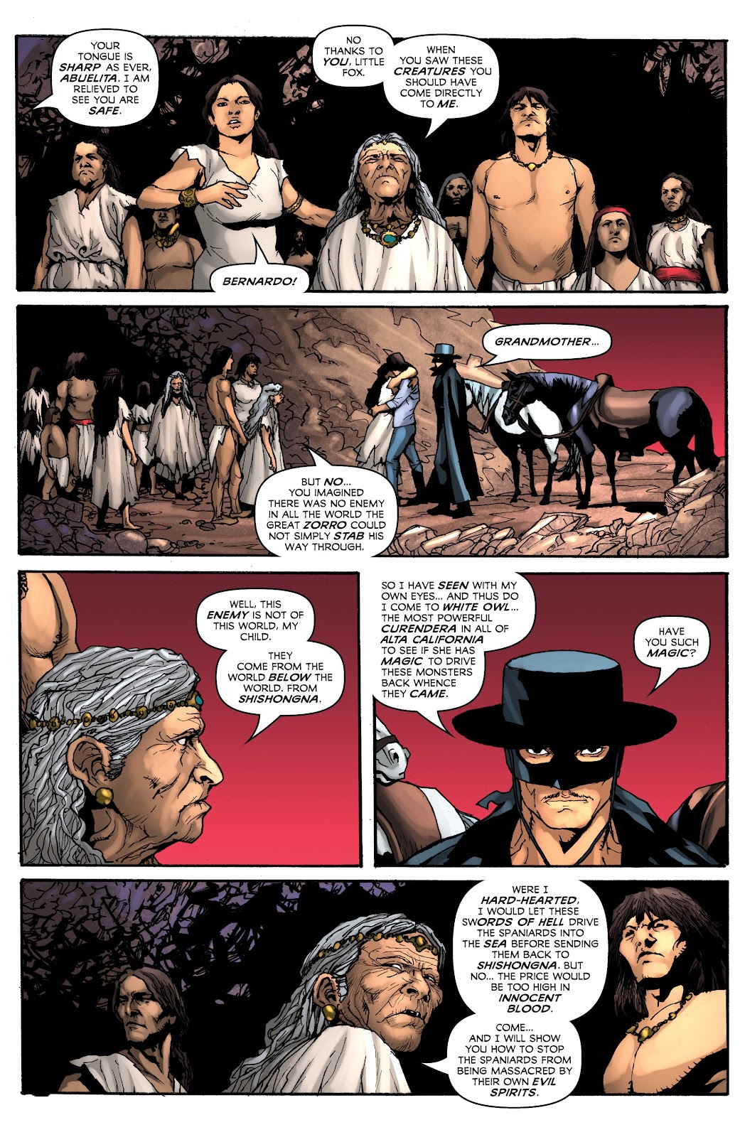 Read online Zorro: Swords of Hell comic -  Issue #3 - 19
