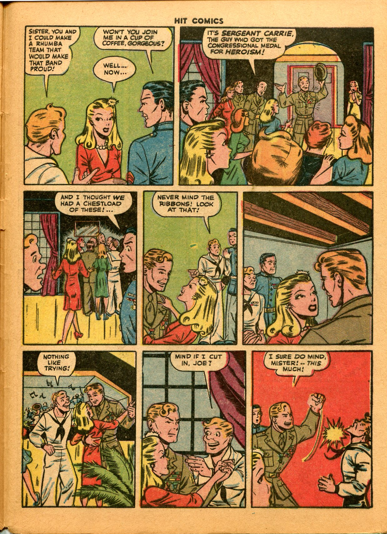 Read online Hit Comics comic -  Issue #35 - 49