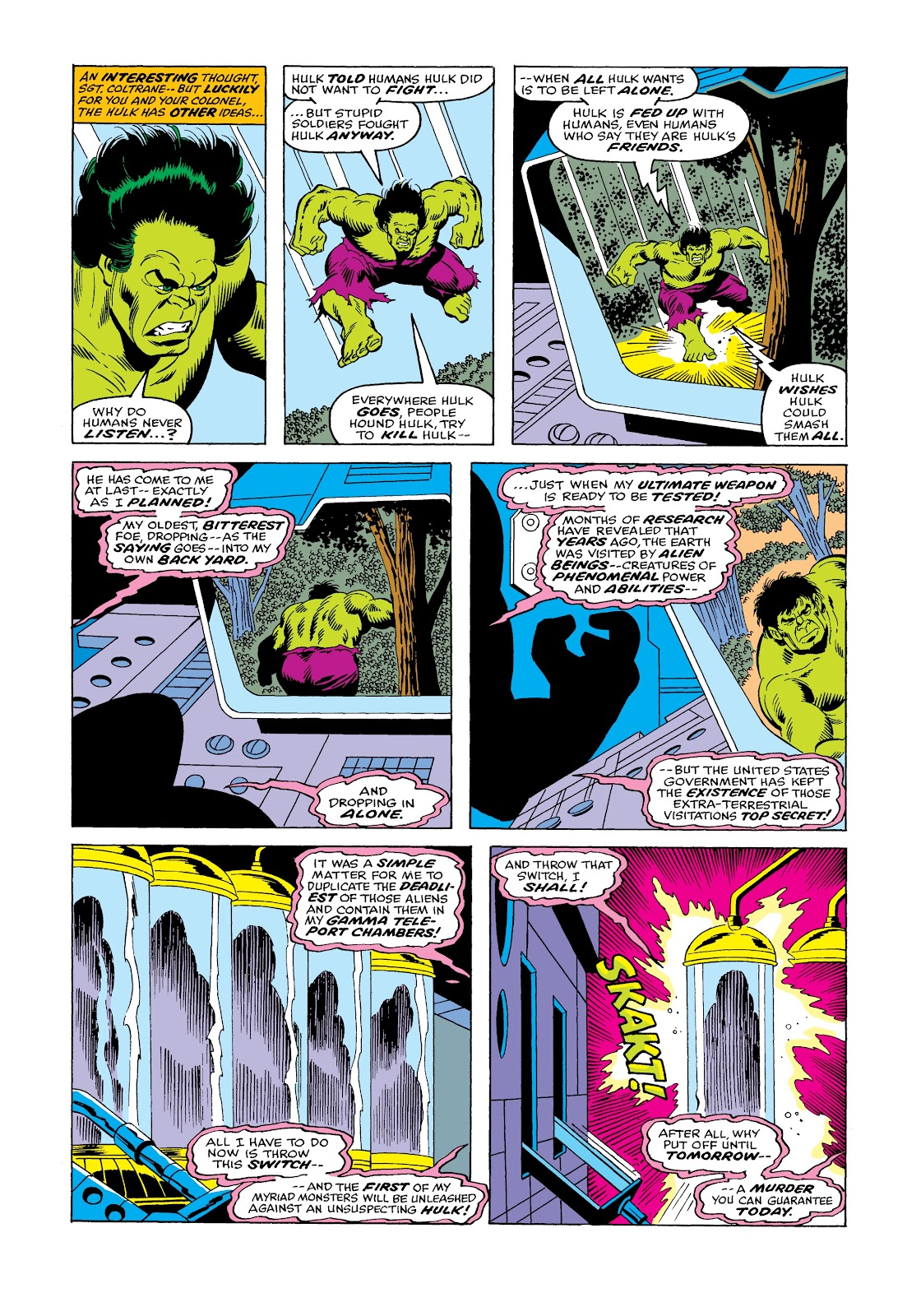 Read online Marvel Masterworks: The Incredible Hulk comic -  Issue # TPB 12 (Part 1) - 50