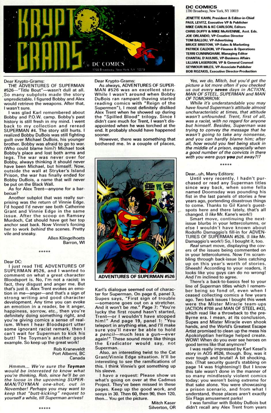 Read online Adventures of Superman (1987) comic -  Issue #530 - 24