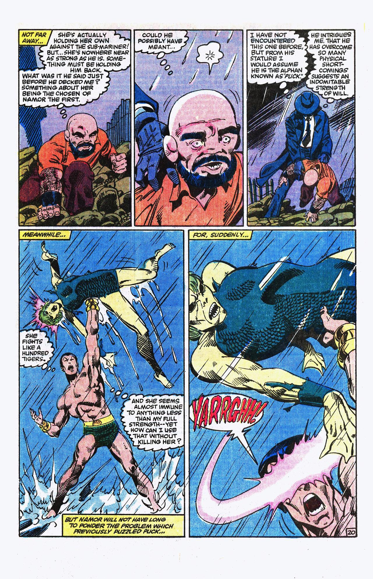 Read online Alpha Flight (1983) comic -  Issue #15 - 21