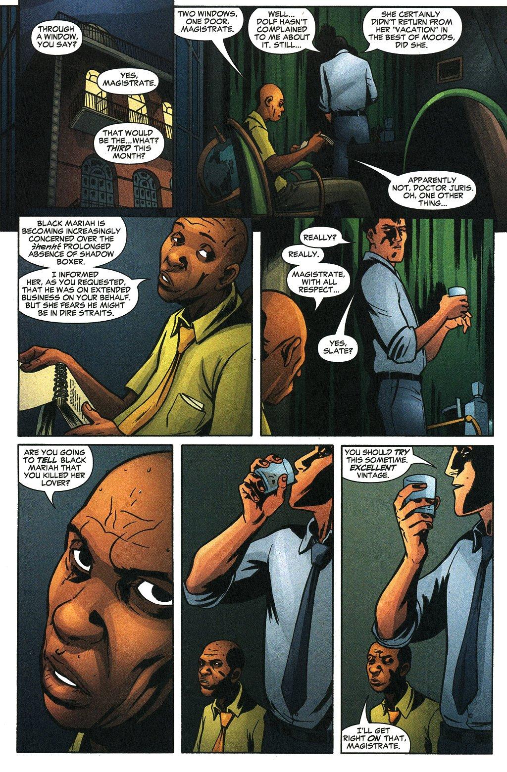 Read online Fallen Angel (2003) comic -  Issue #19 - 14