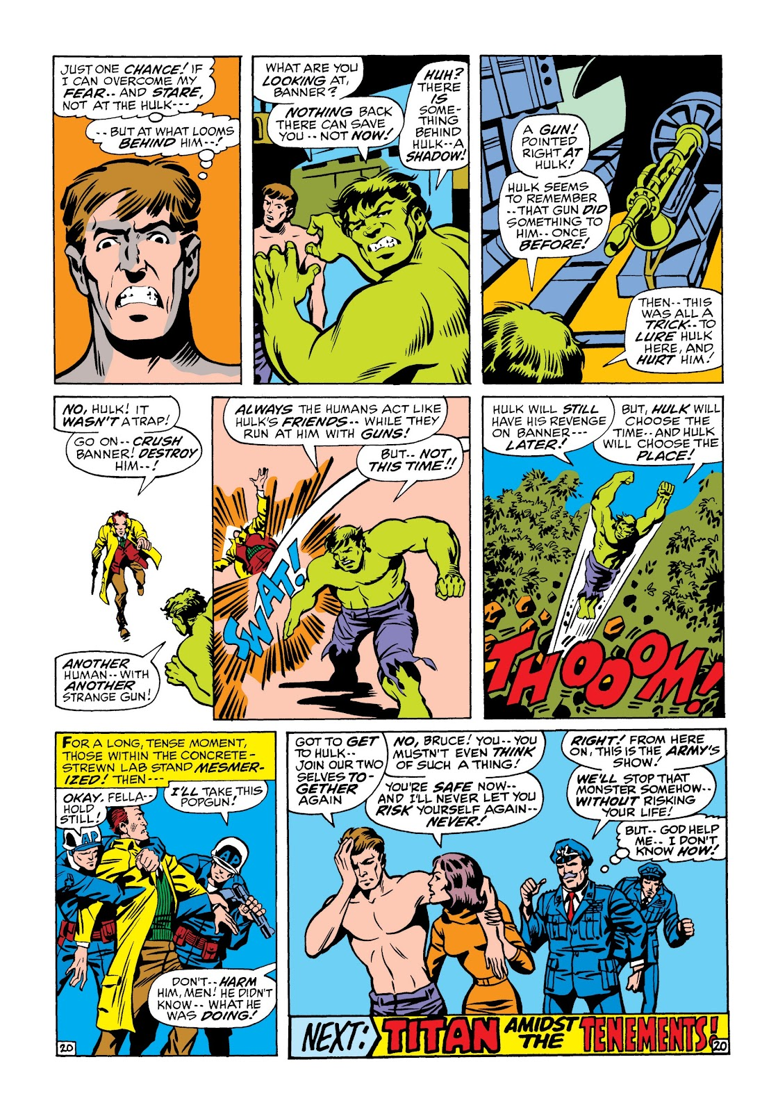 Read online Marvel Masterworks: The Incredible Hulk comic -  Issue # TPB 6 (Part 2) - 93